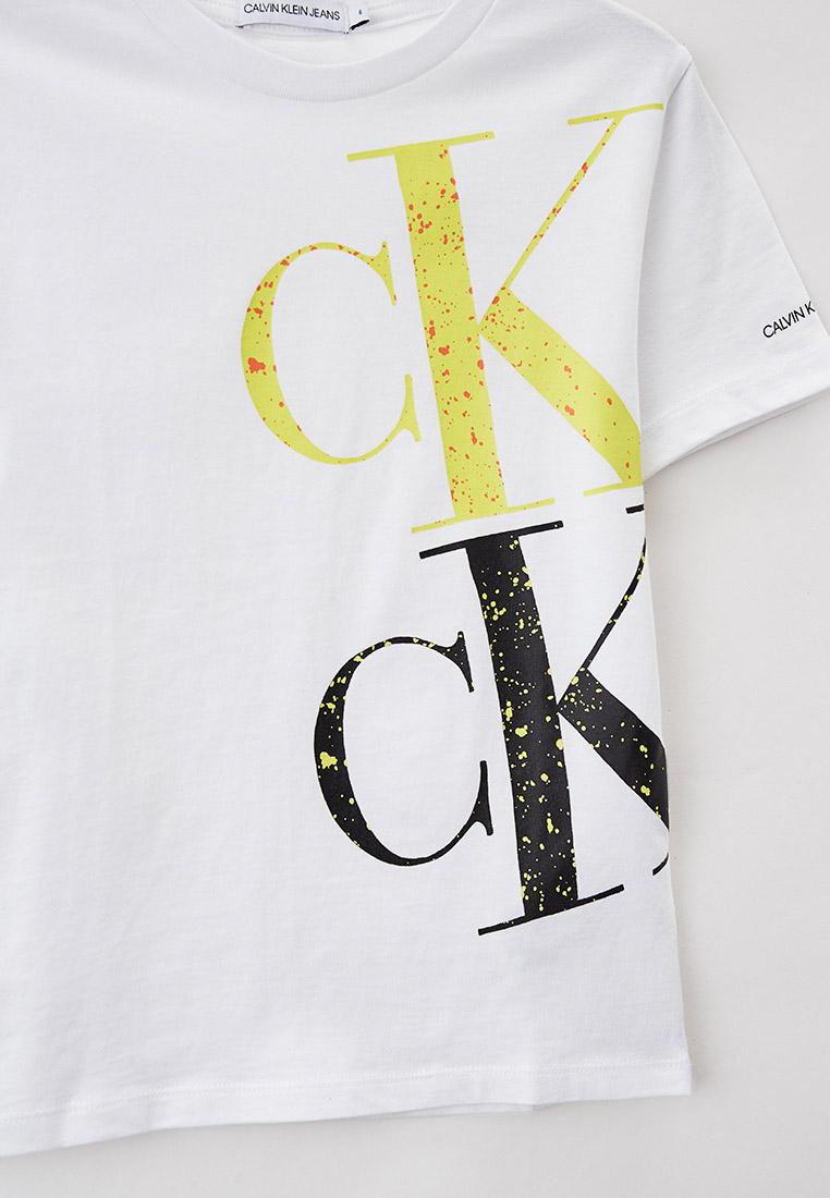 Футболка с коротким рукавом Calvin Klein Jeans IB0IB00843: изображение 3