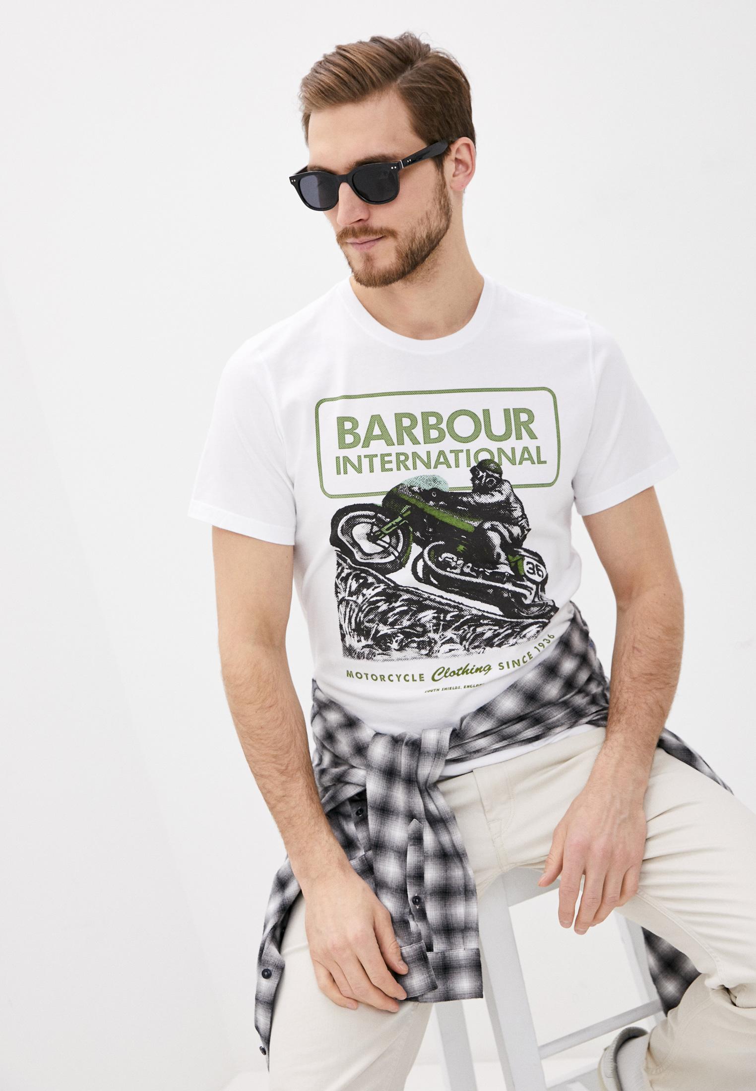 Футболка с коротким рукавом Barbour (Барбур) MTS0838