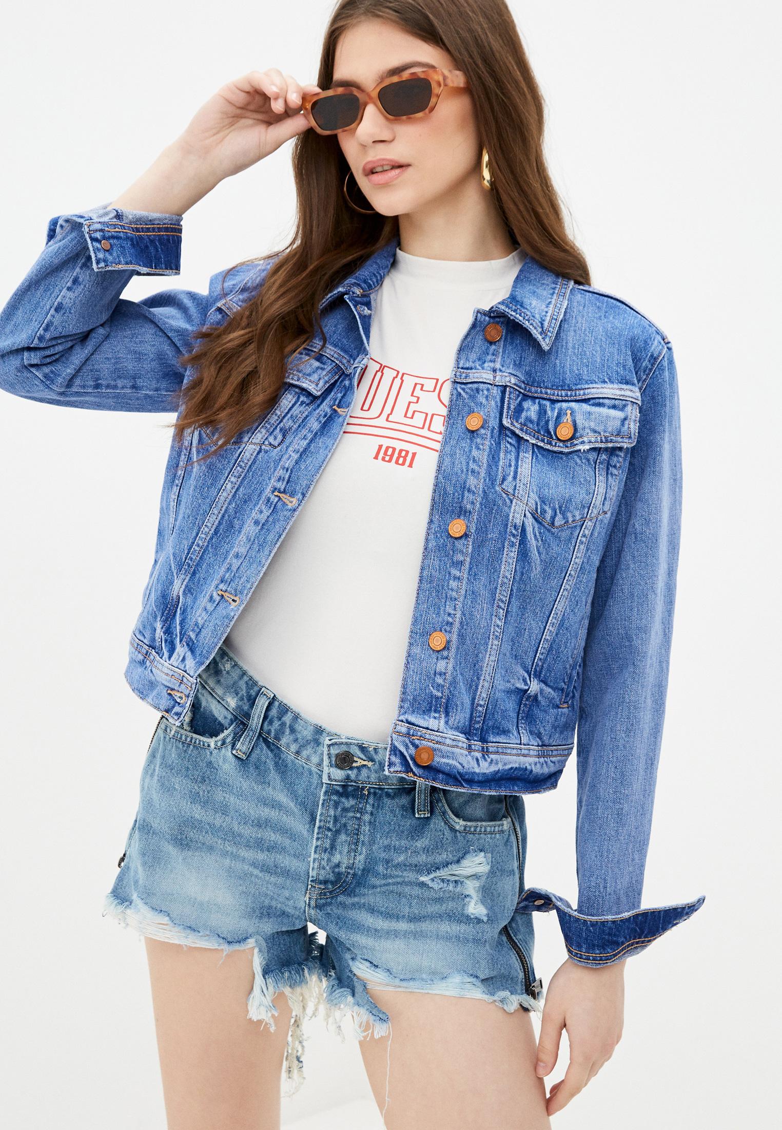 Джинсовая куртка Guess Jeans W1RN25 D4AM1