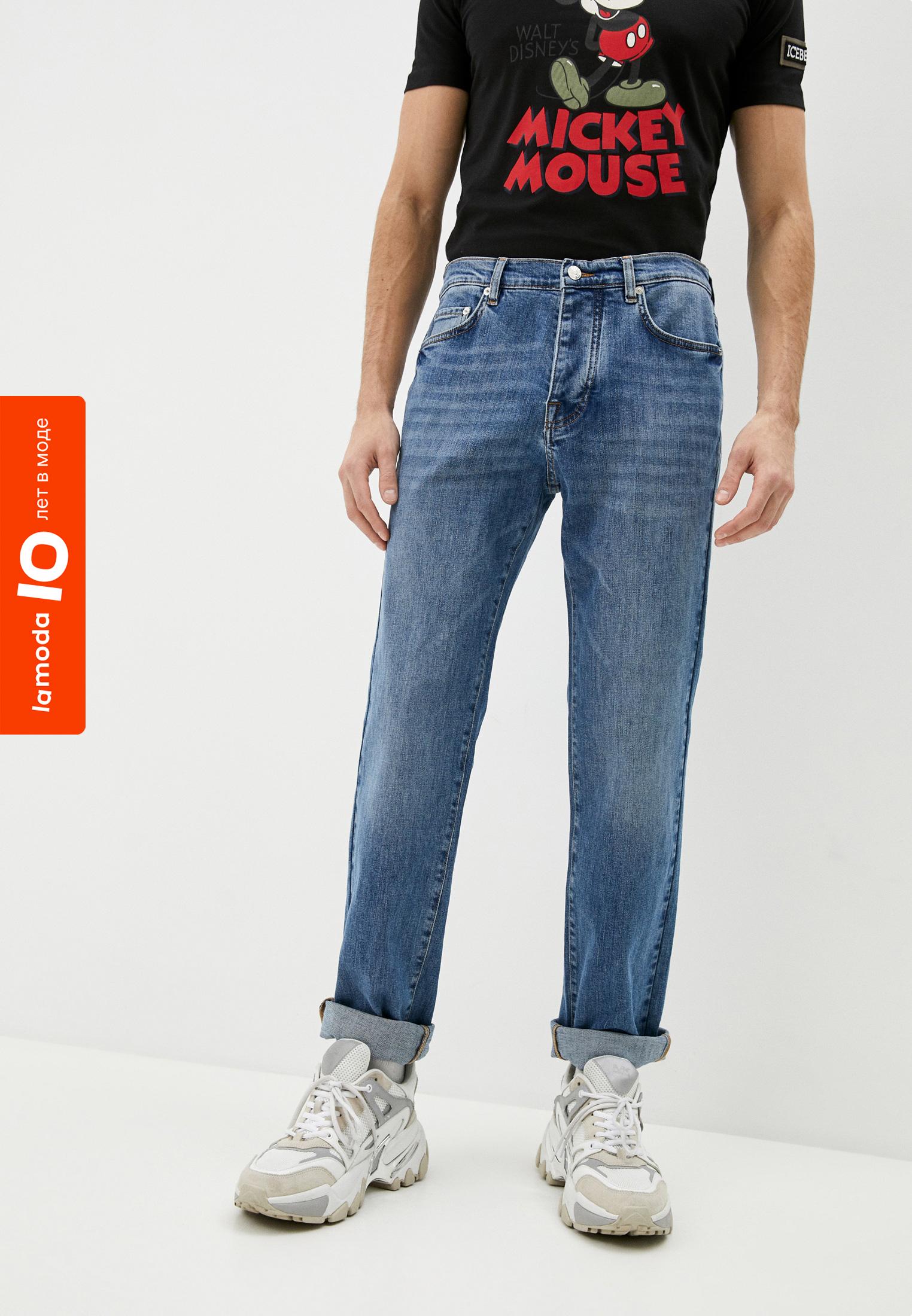 Мужские прямые джинсы Iceberg (Айсберг) I1P28M16004