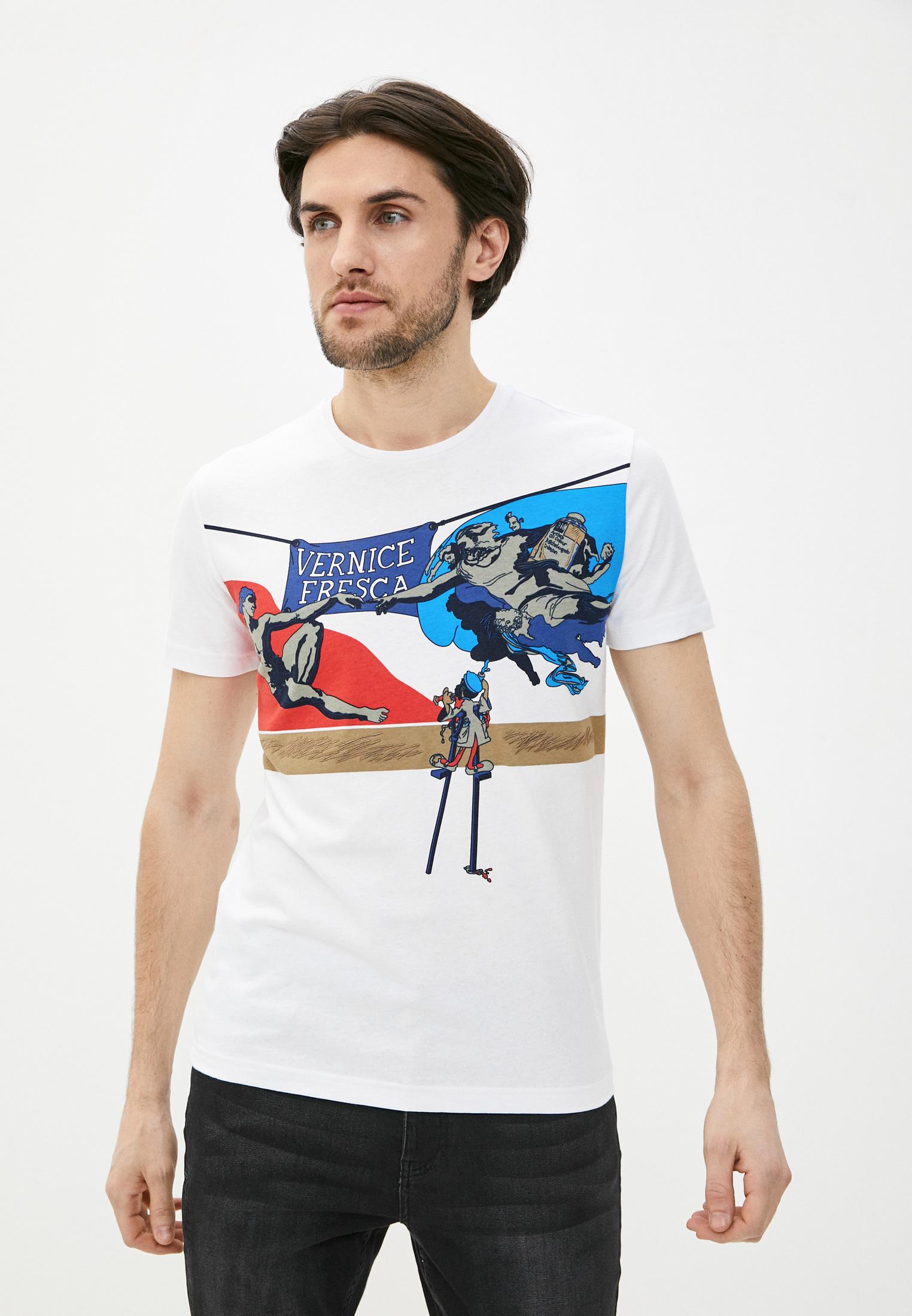 Мужская футболка Iceberg (Айсберг) I1PF01C6304