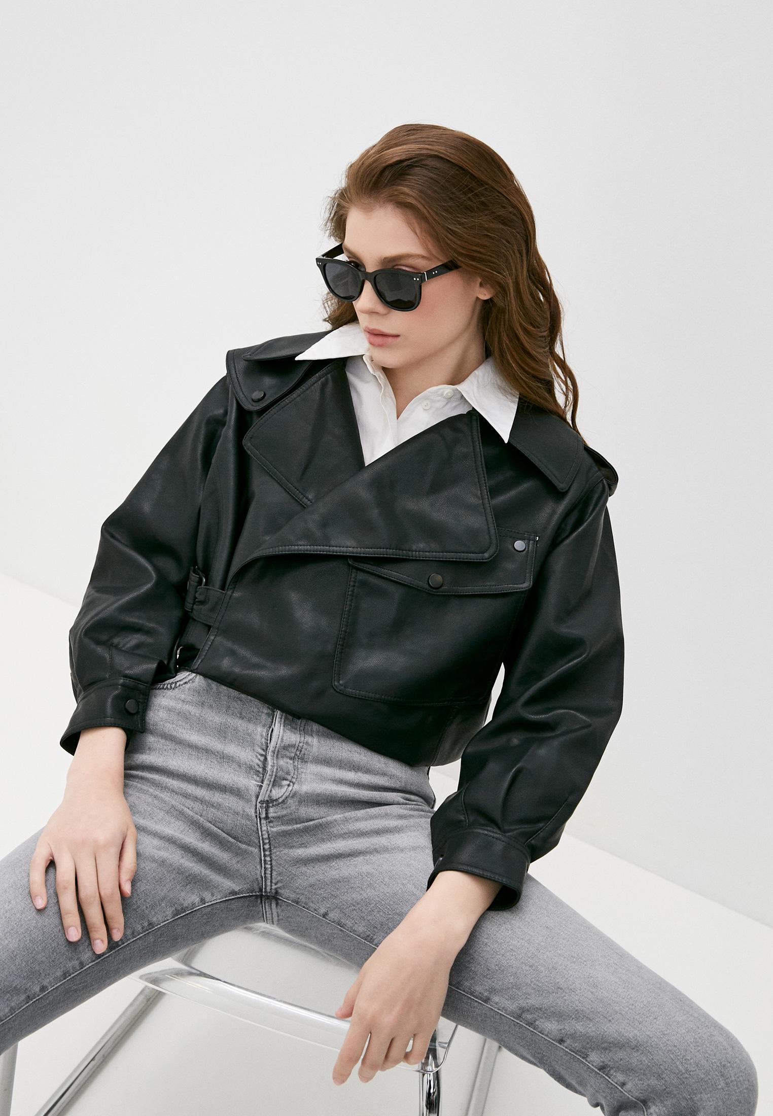 Кожаная куртка Izabella 7688