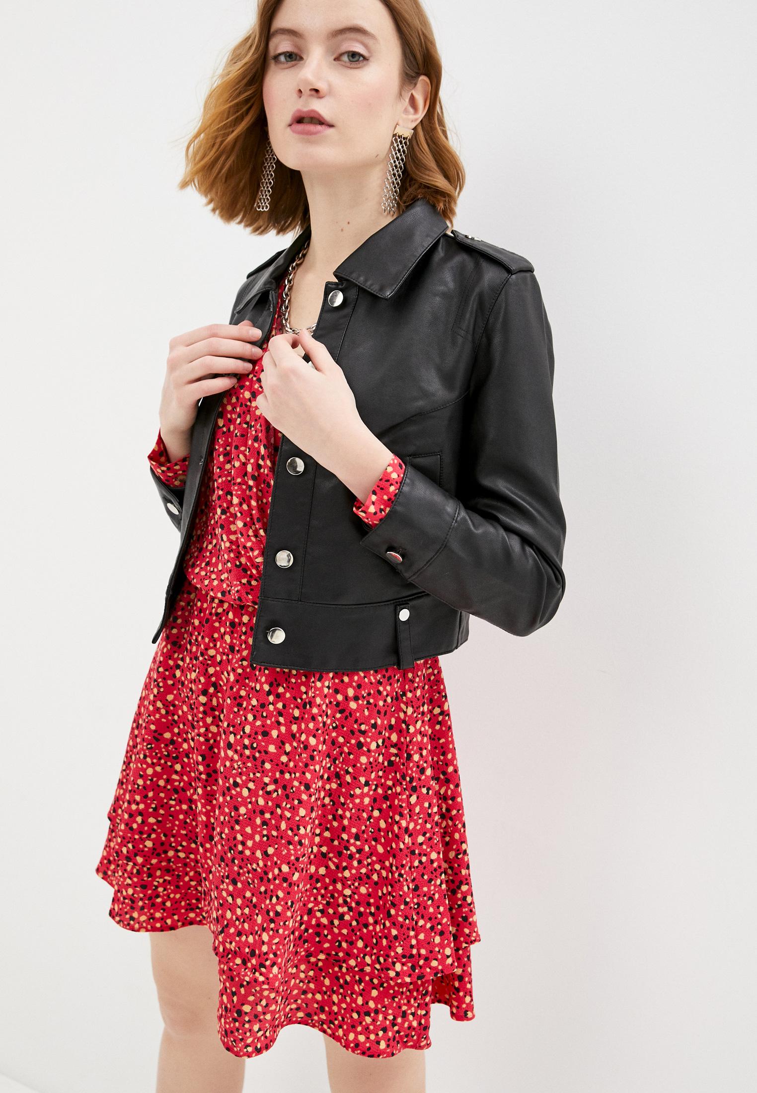 Кожаная куртка Izabella 8102