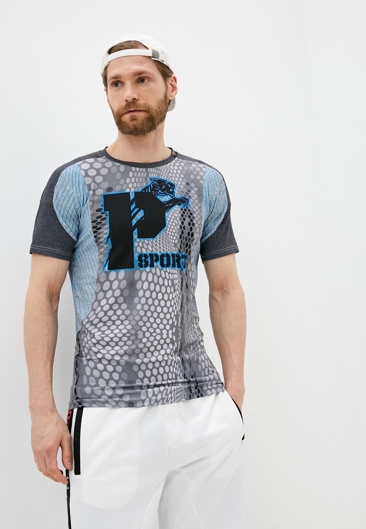 Спортивная футболка Plein Sport A17CMTK1108SJY001N