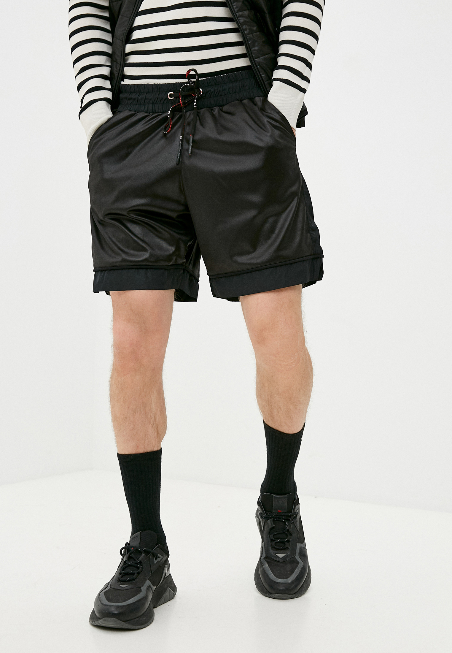 Мужские повседневные шорты Plein Sport F17CMJT0133SJO001N