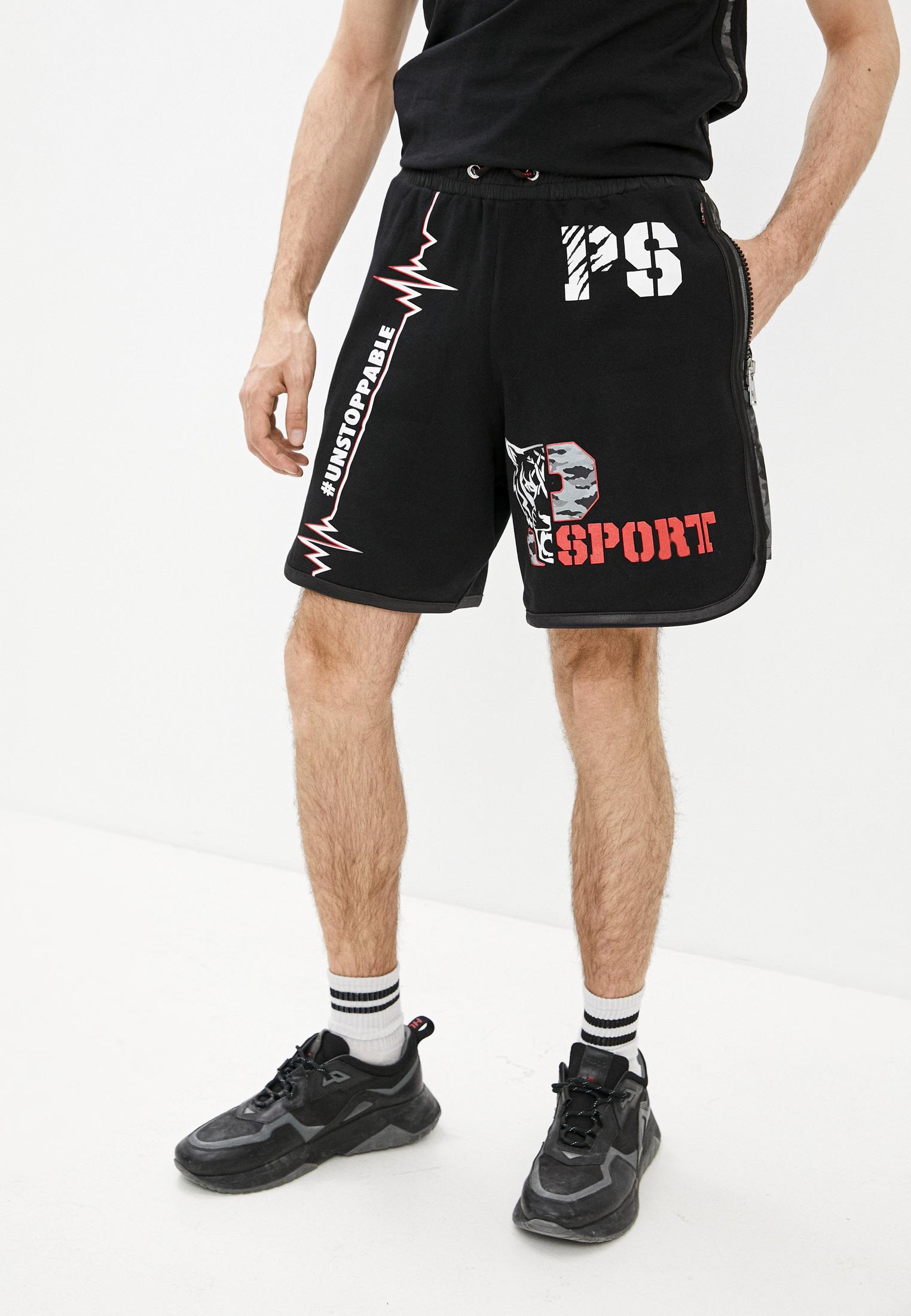 Мужские повседневные шорты Plein Sport Шорты спортивные Plein Sport