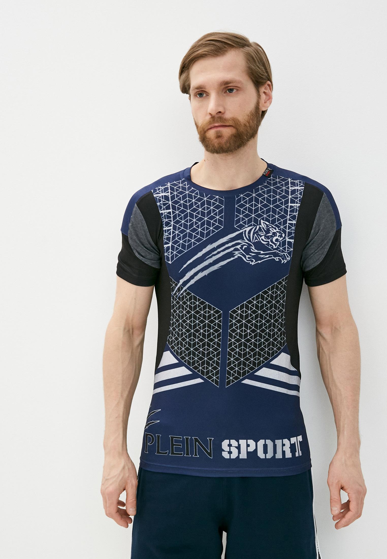 Спортивная футболка Plein Sport F17CMTK0749SJY001N