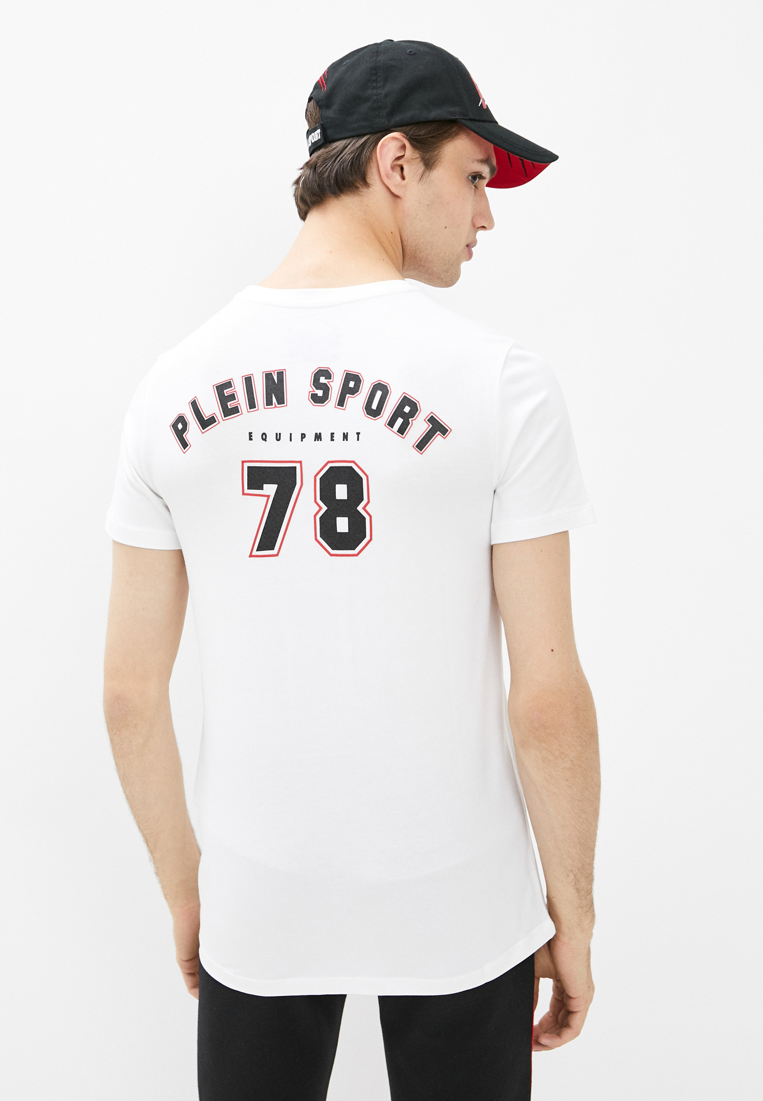 Футболка Plein Sport F19CMTK3707SJY001N: изображение 4