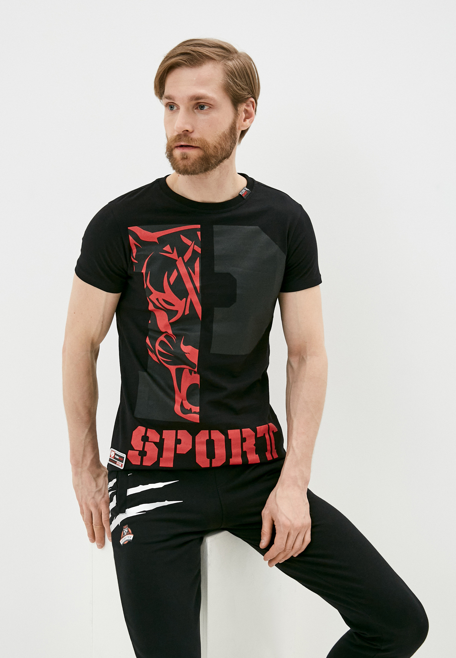 Футболка Plein Sport P17CMTK0555SJY001N