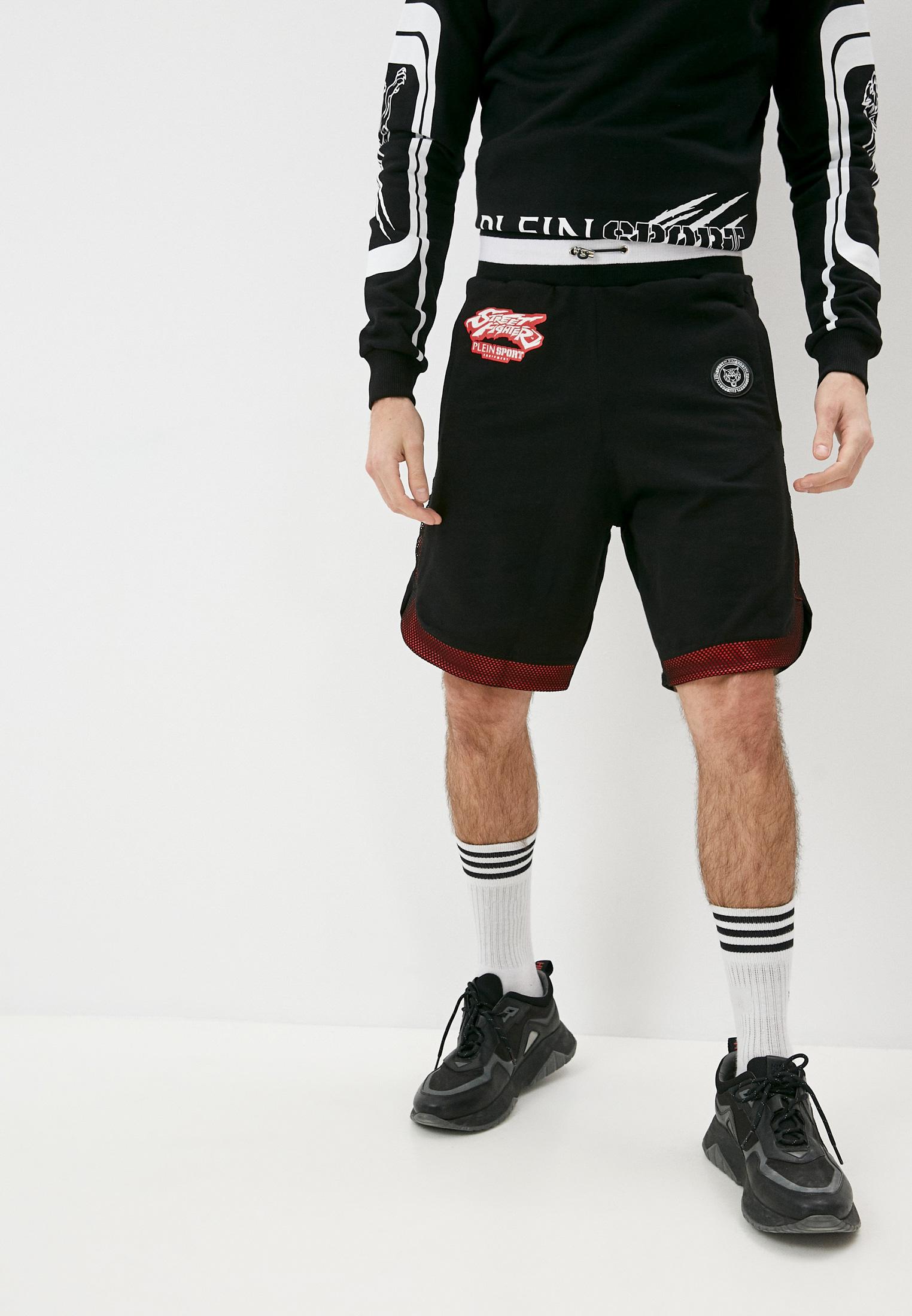 Мужские спортивные шорты Plein Sport P18CMJT0558SJO001N