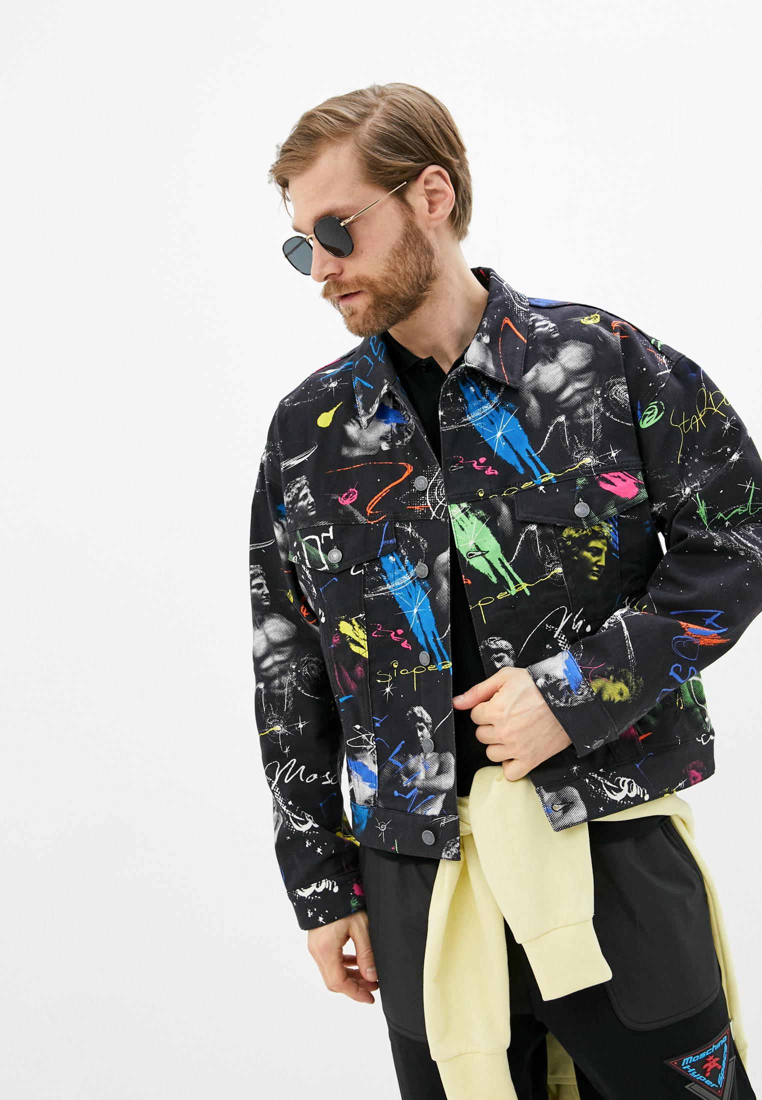 Джинсовая куртка Moschino Couture Куртка джинсовая Moschino Couture