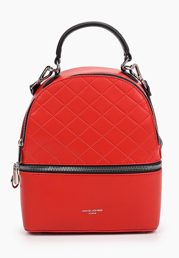 Городской рюкзак David Jones (Дэвид Джонс) 6516-2_красный