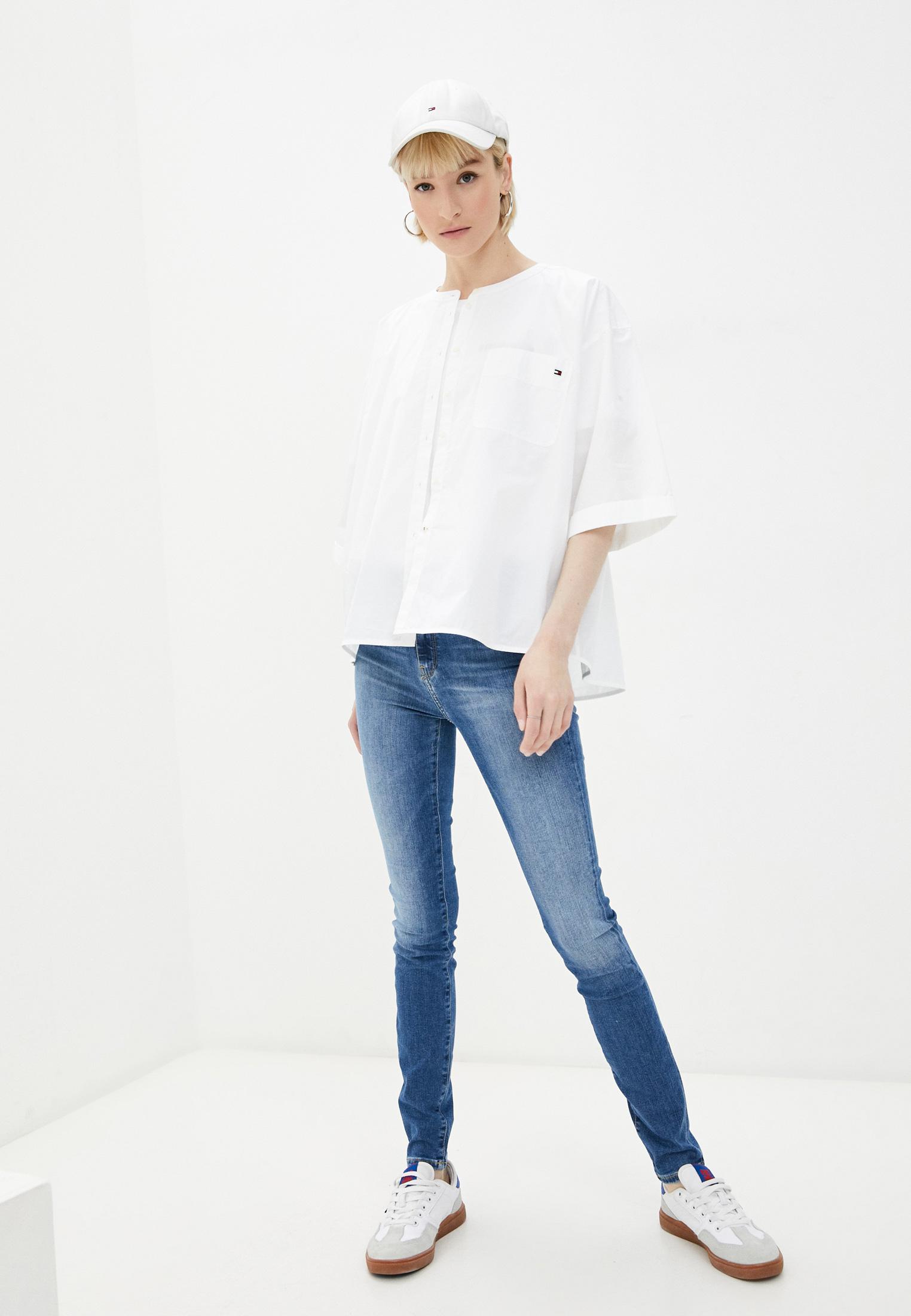 Зауженные джинсы Tommy Hilfiger (Томми Хилфигер) WW0WW30195: изображение 2
