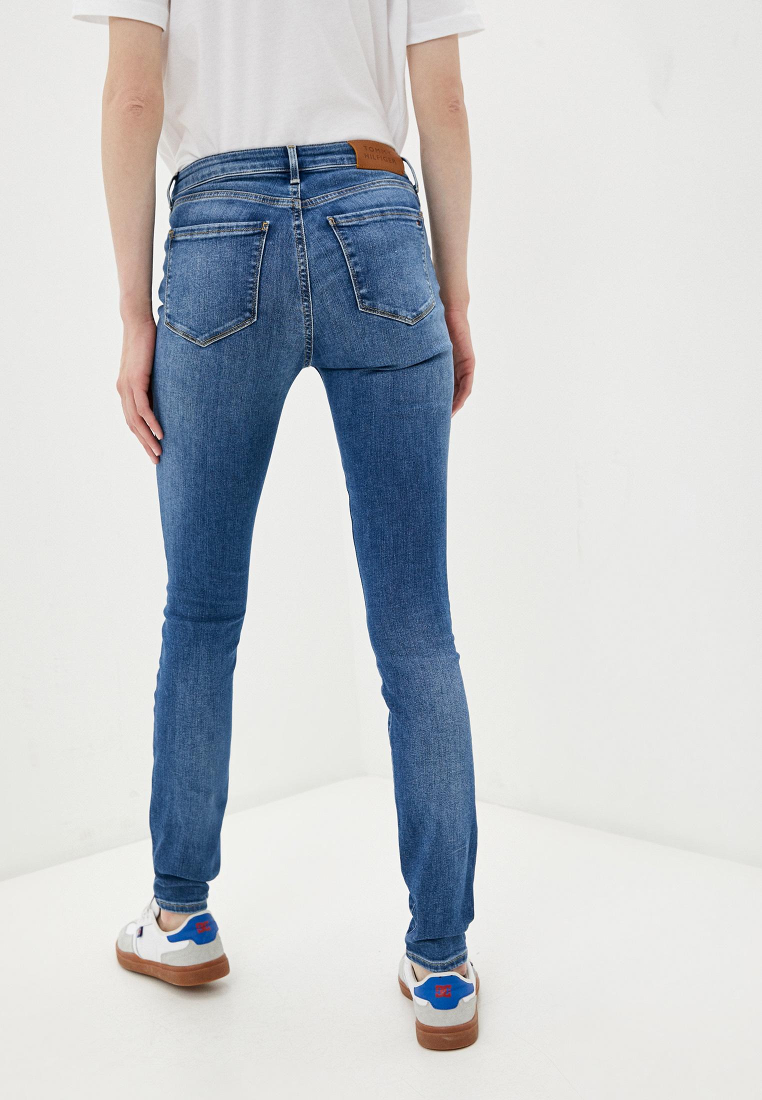 Зауженные джинсы Tommy Hilfiger (Томми Хилфигер) WW0WW30195: изображение 3