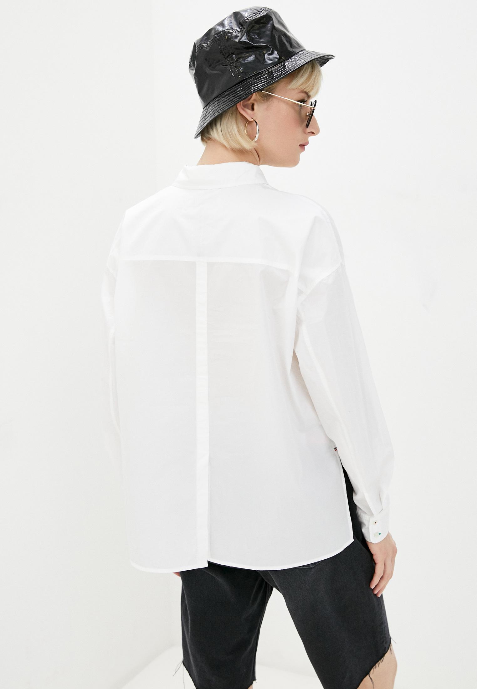 Женские рубашки с длинным рукавом Tommy Hilfiger (Томми Хилфигер) WW0WW30302: изображение 3
