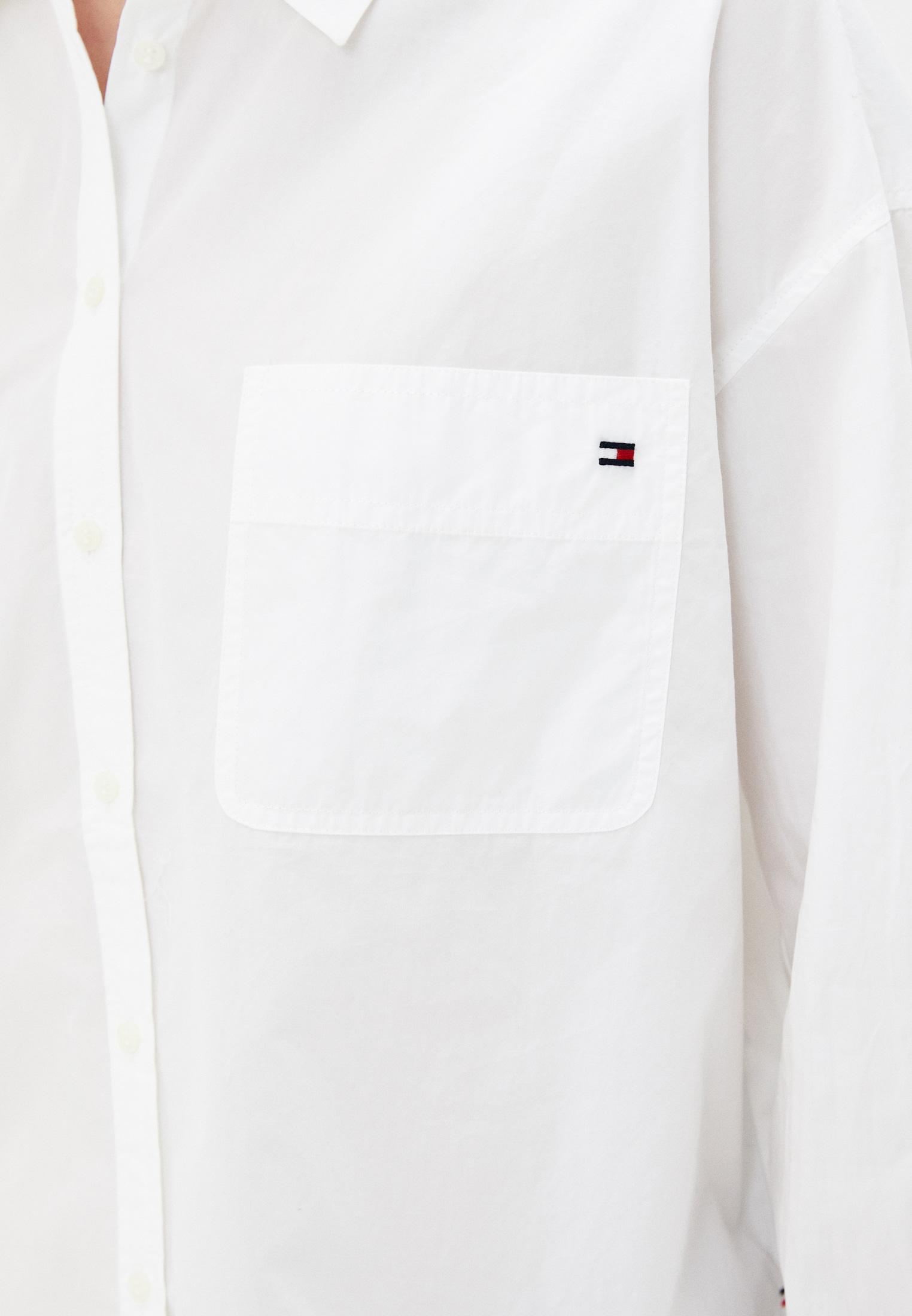 Женские рубашки с длинным рукавом Tommy Hilfiger (Томми Хилфигер) WW0WW30302: изображение 4