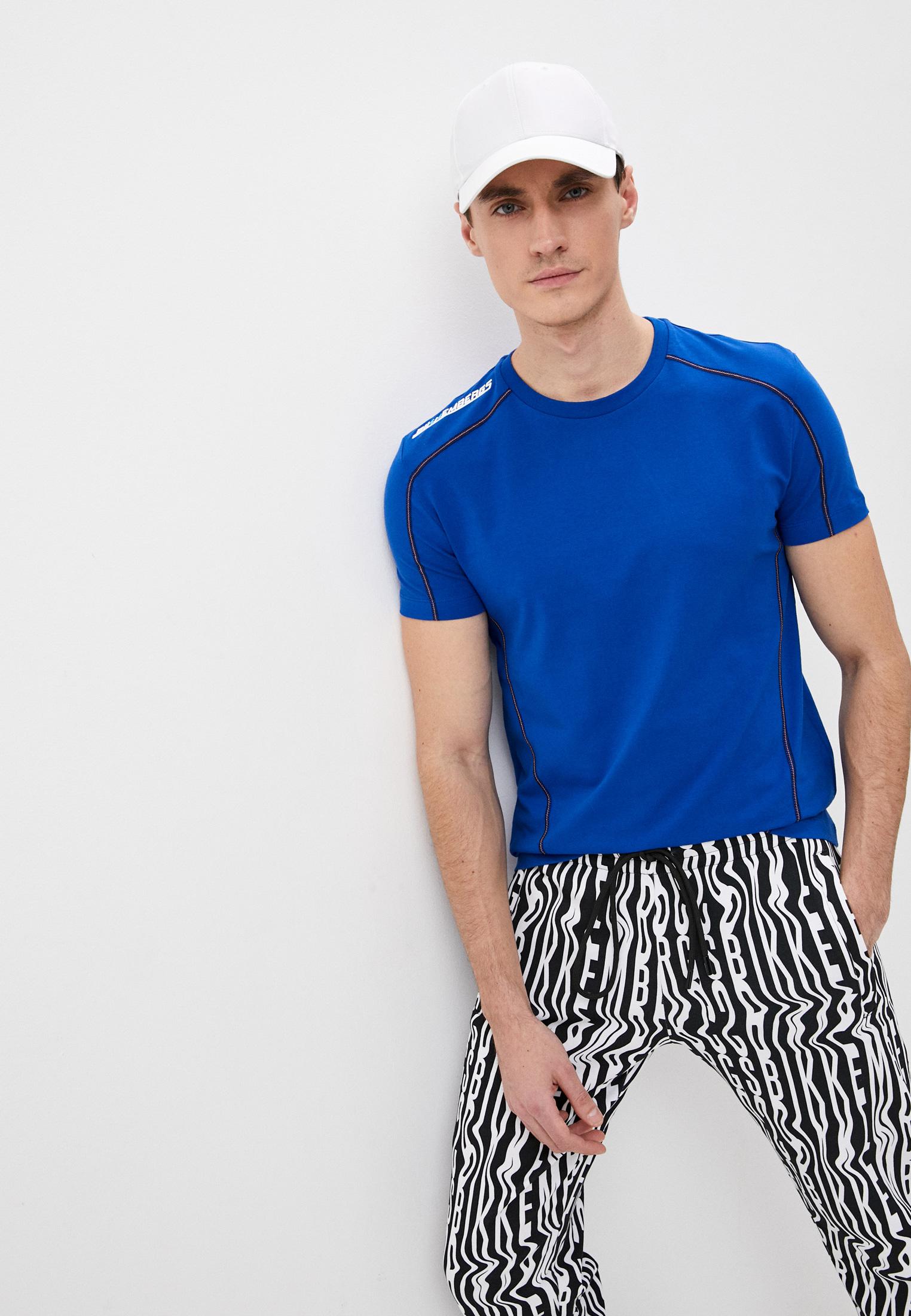 Мужская футболка Bikkembergs (Биккембергс) C405801E1814Y29