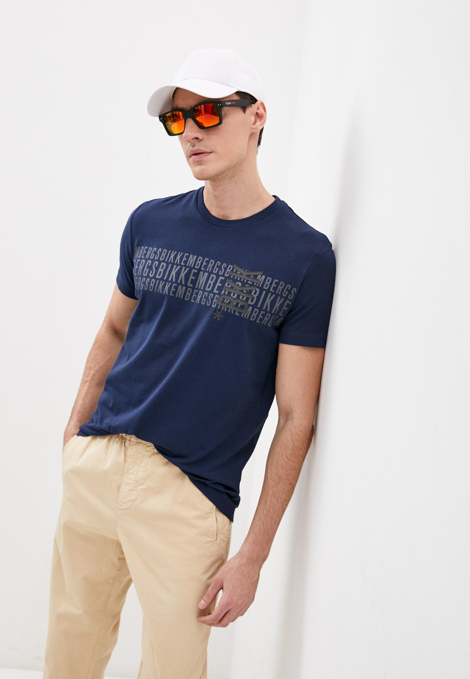 Мужская футболка Bikkembergs (Биккембергс) C70016ZE1951Y91
