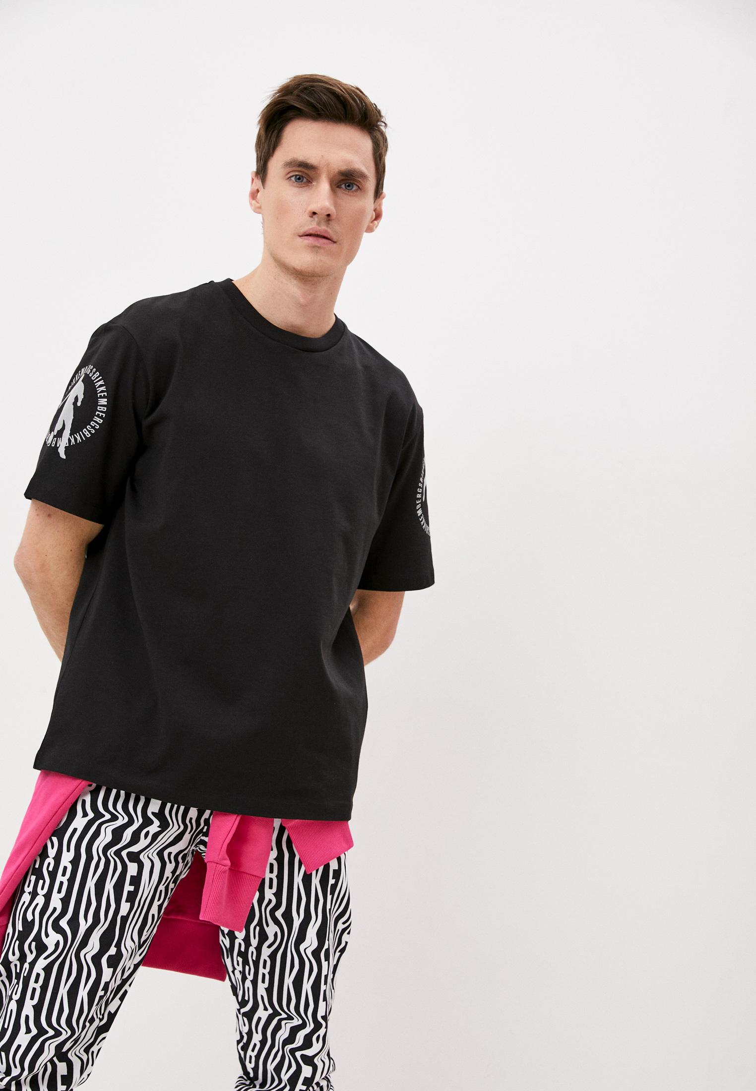 Мужская футболка Bikkembergs (Биккембергс) C70188NM4168C74