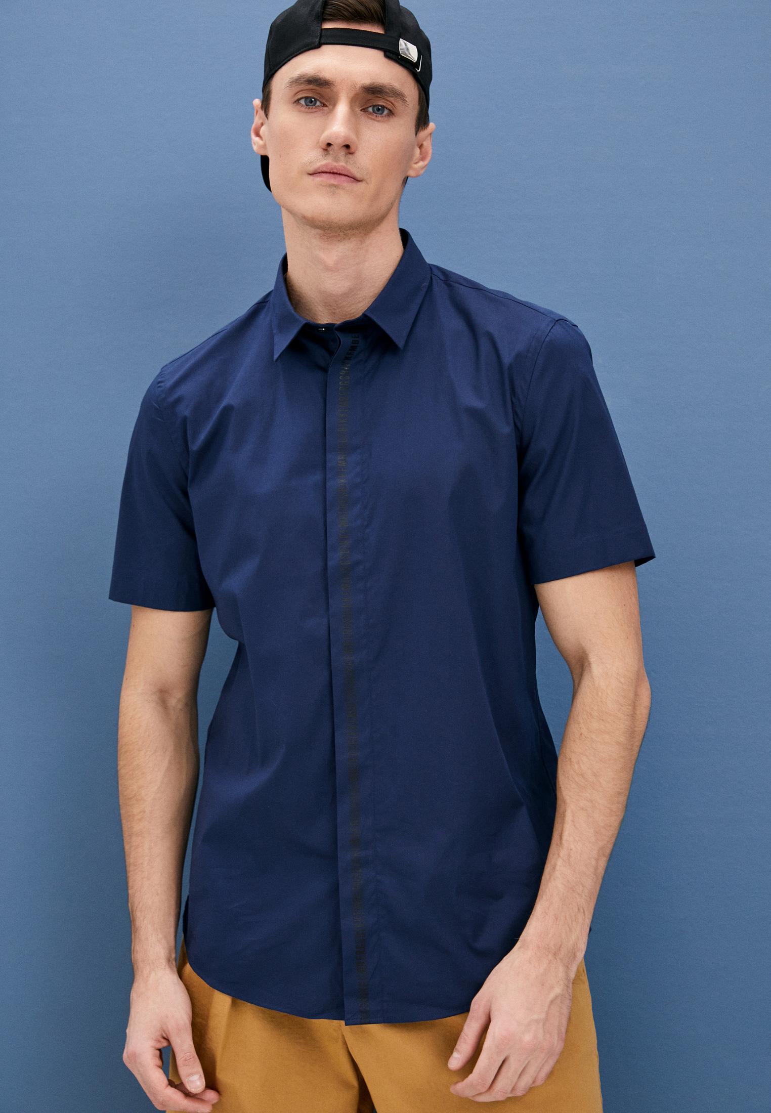 Рубашка с коротким рукавом Bikkembergs (Биккембергс) CC01503S2931Y91: изображение 2
