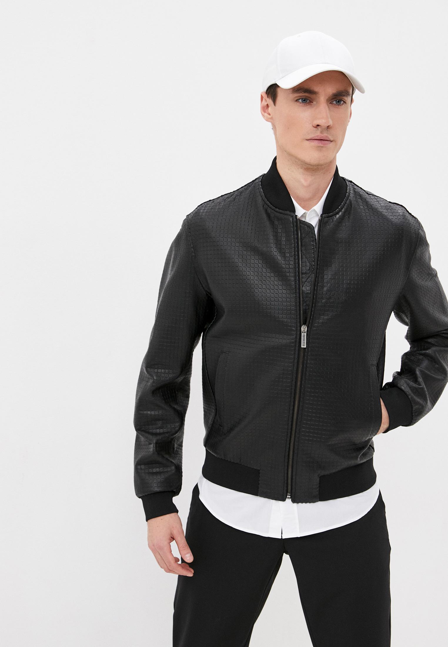 Кожаная куртка Bikkembergs (Биккембергс) CH1509JD1193C74