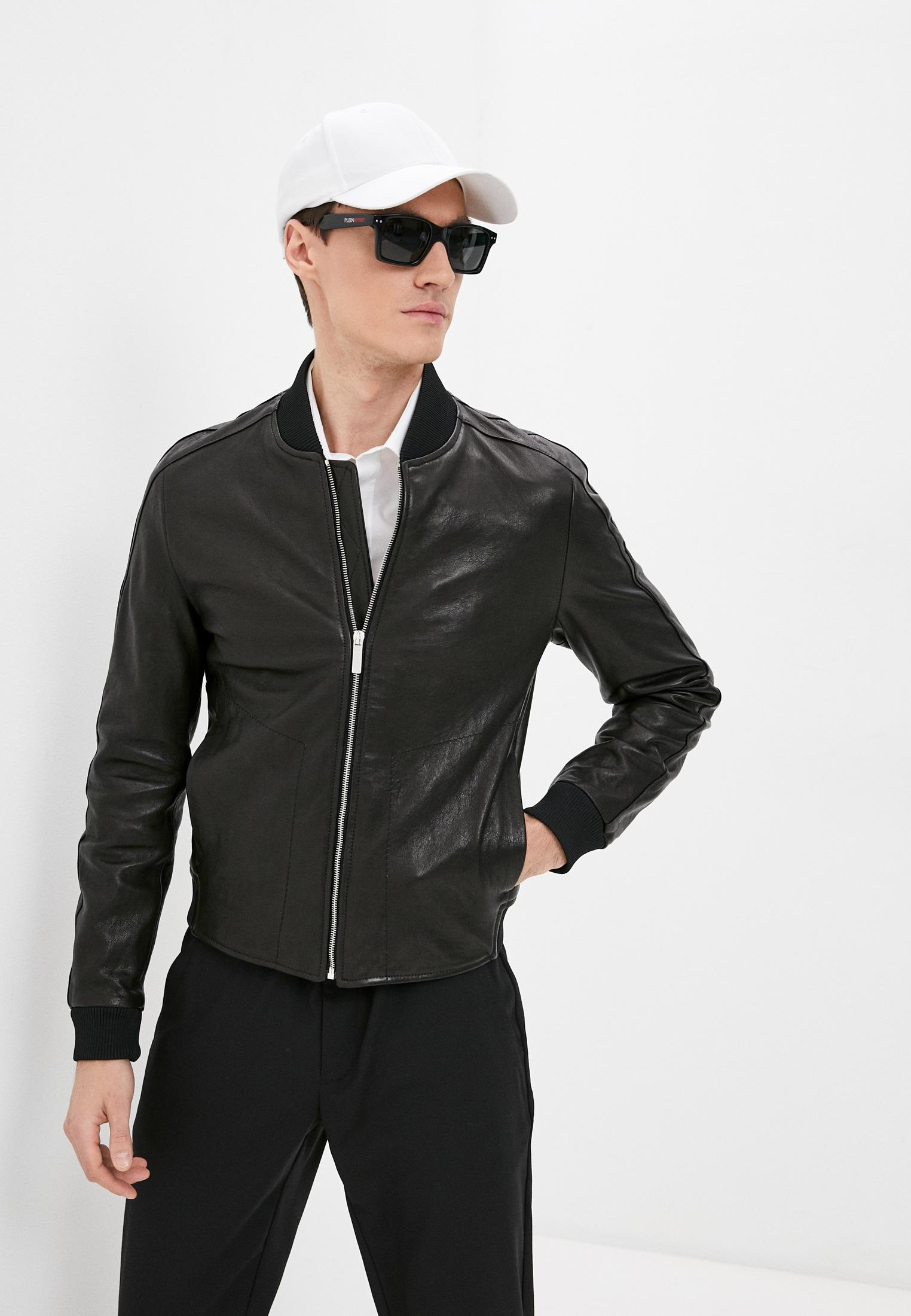 Кожаная куртка Bikkembergs Куртка кожаная Bikkembergs