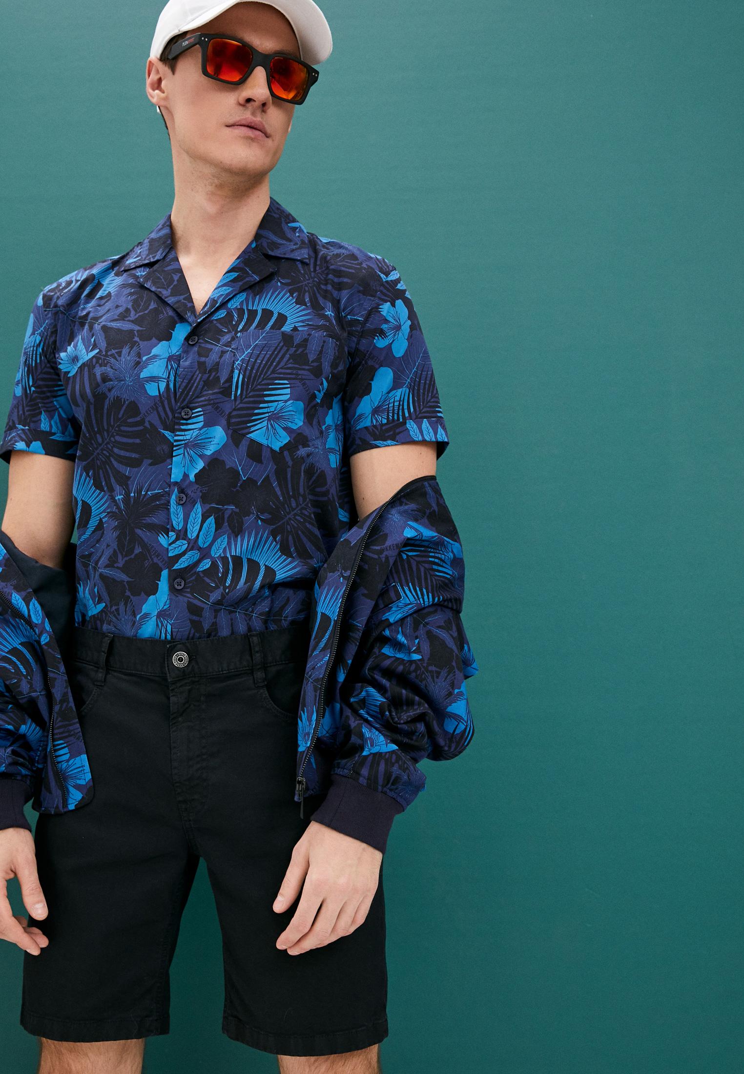 Мужские джинсовые шорты Bikkembergs (Биккембергс) CO10273S3279Y91: изображение 2