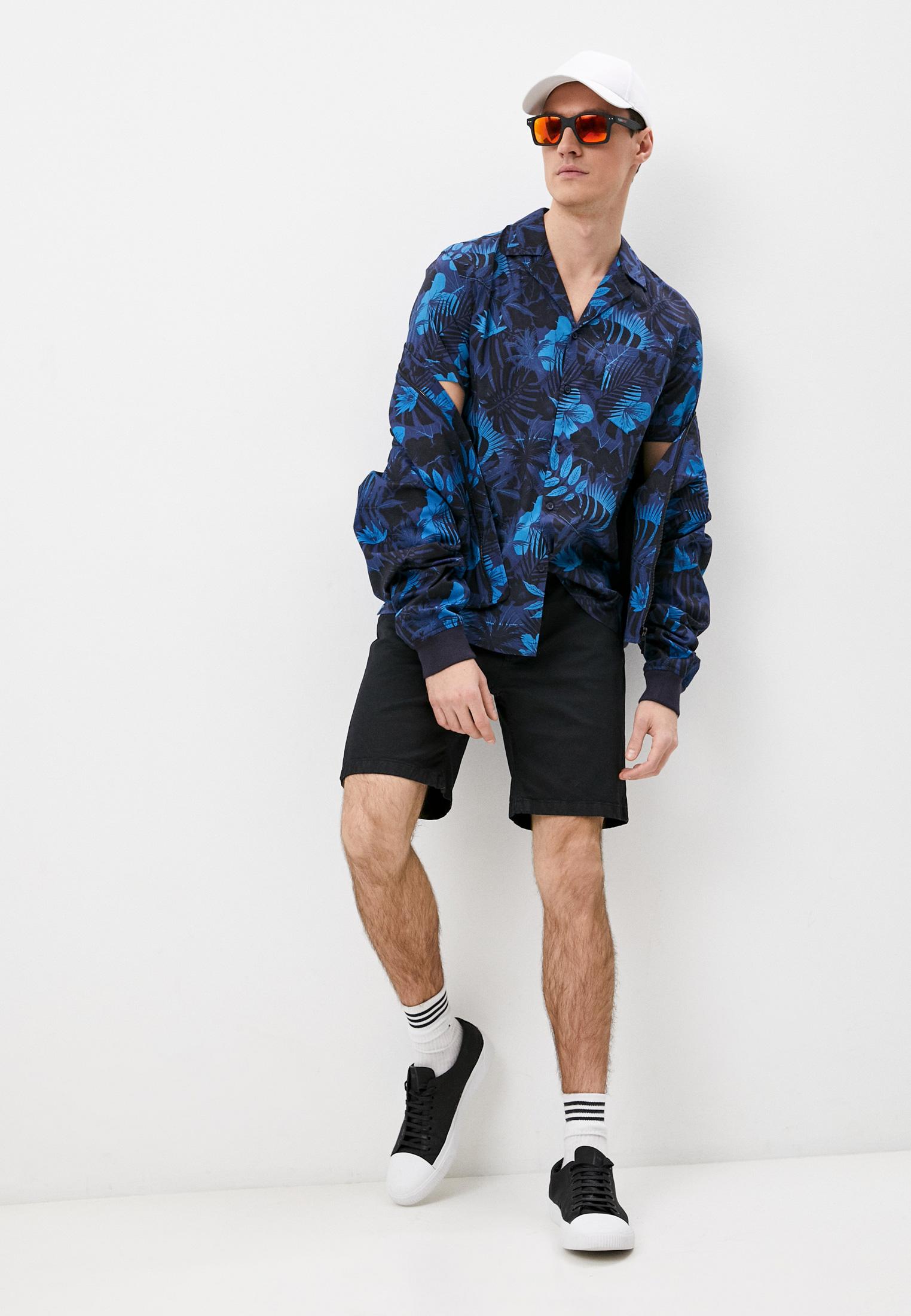 Мужские джинсовые шорты Bikkembergs (Биккембергс) CO10273S3279Y91: изображение 3