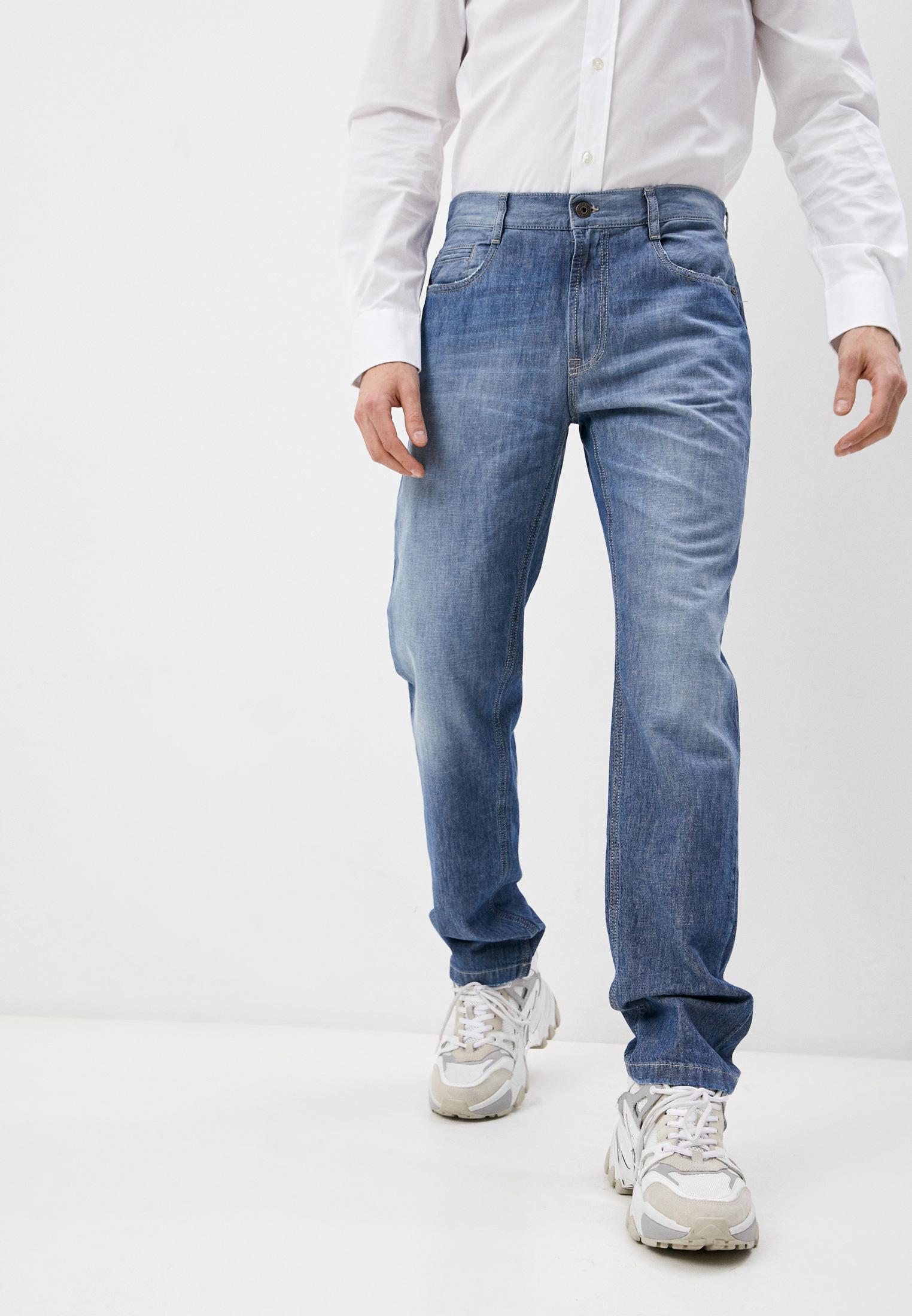 Мужские прямые джинсы Bikkembergs Джинсы Bikkembergs