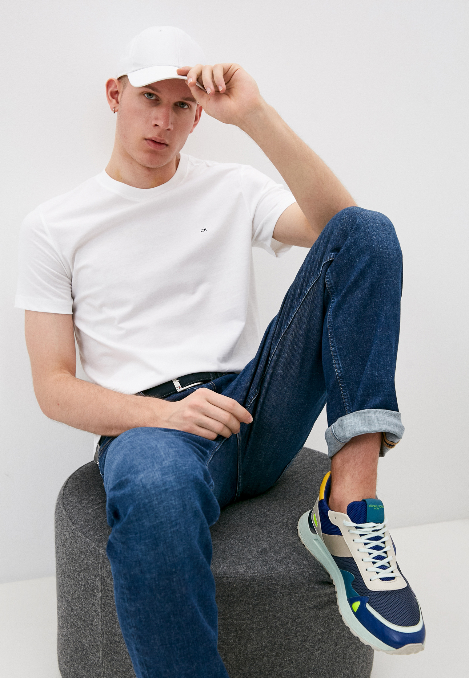 Мужская футболка Calvin Klein (Кельвин Кляйн) K10K107088