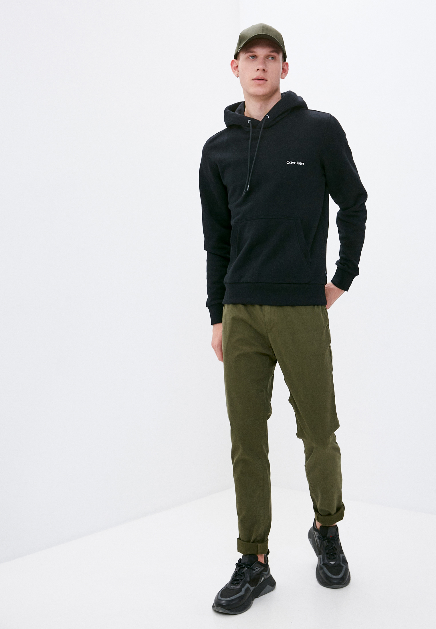 Мужские худи Calvin Klein (Кельвин Кляйн) K10K107165: изображение 3