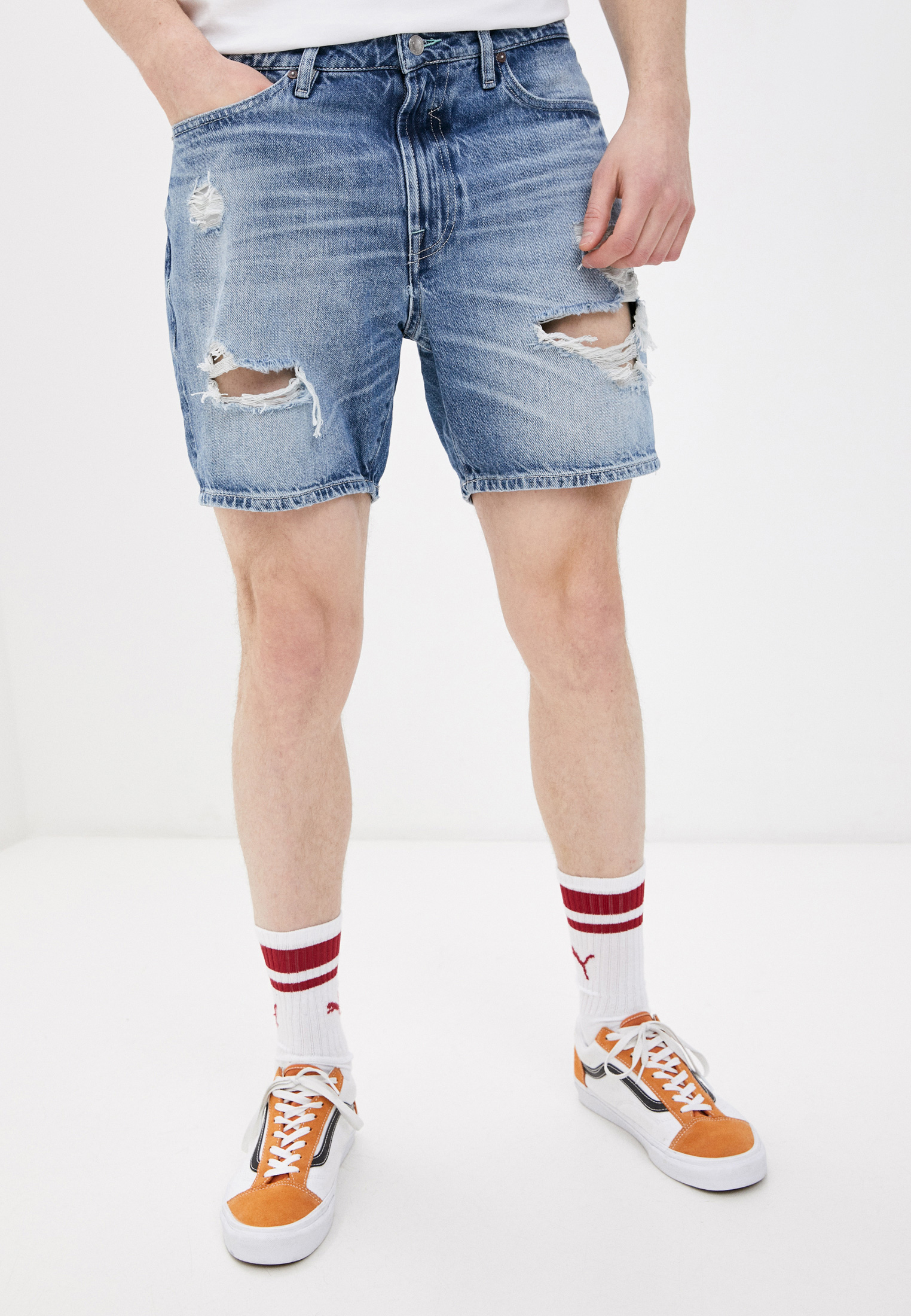 Мужские джинсовые шорты Guess Jeans M1GD10 D3ZJ5
