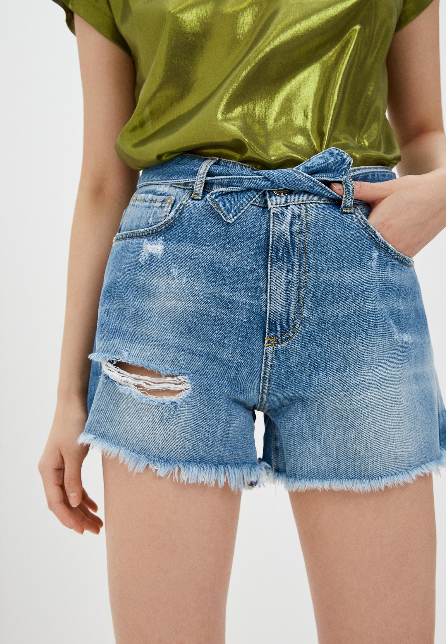 Женские джинсовые шорты Pinko (Пинко) 1J10NDY649