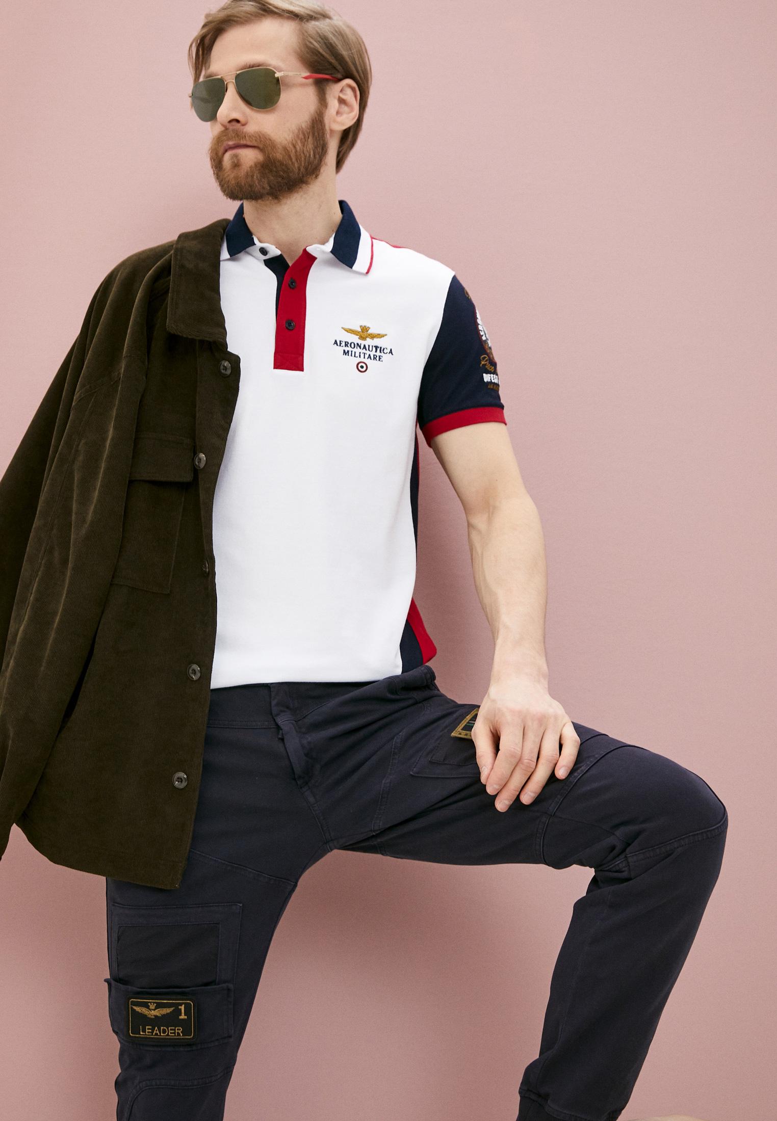 Мужские повседневные брюки Aeronautica Militare PF743J217: изображение 6