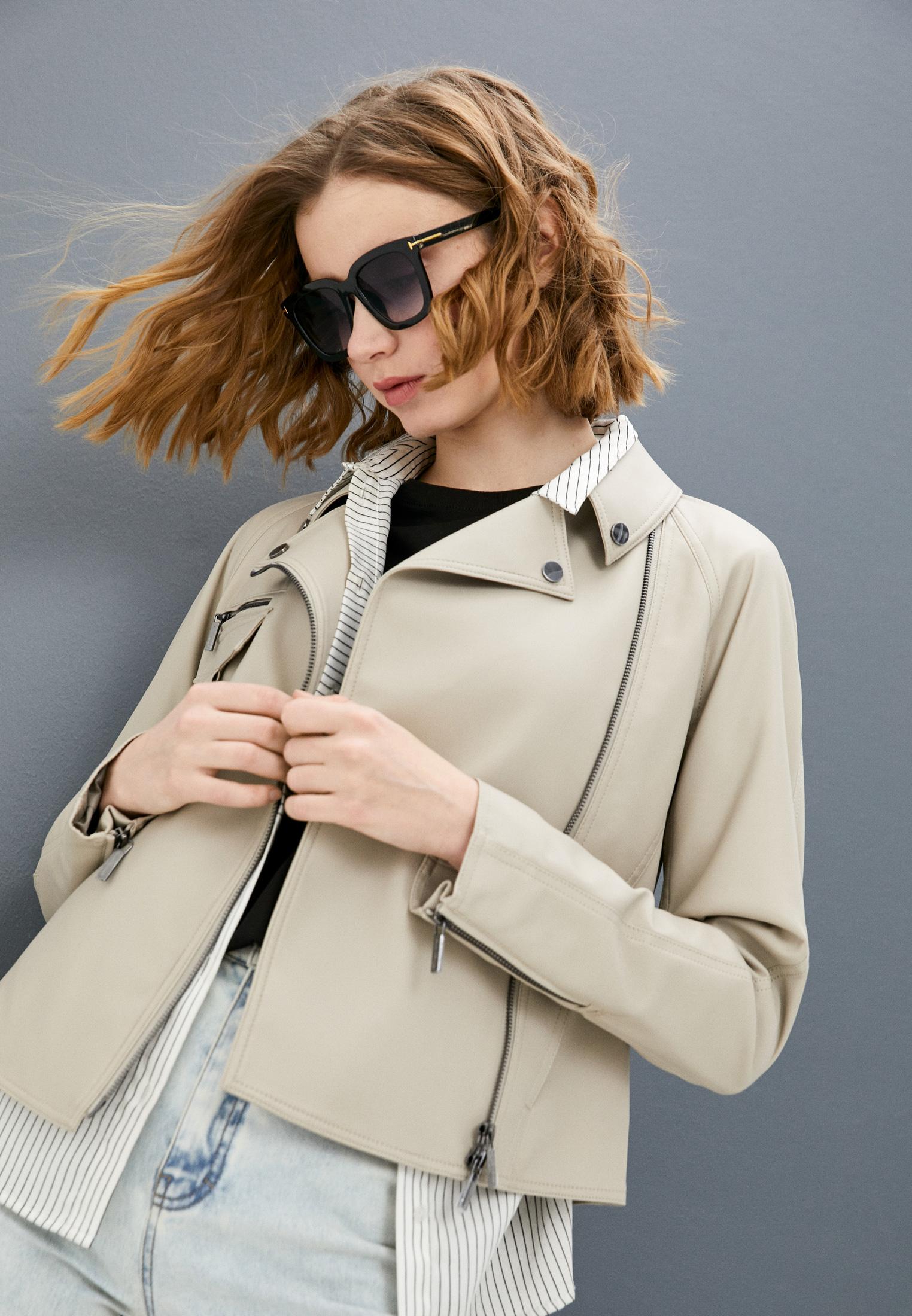 Кожаная куртка Armani Exchange 3KYB19 YNTPZ: изображение 2
