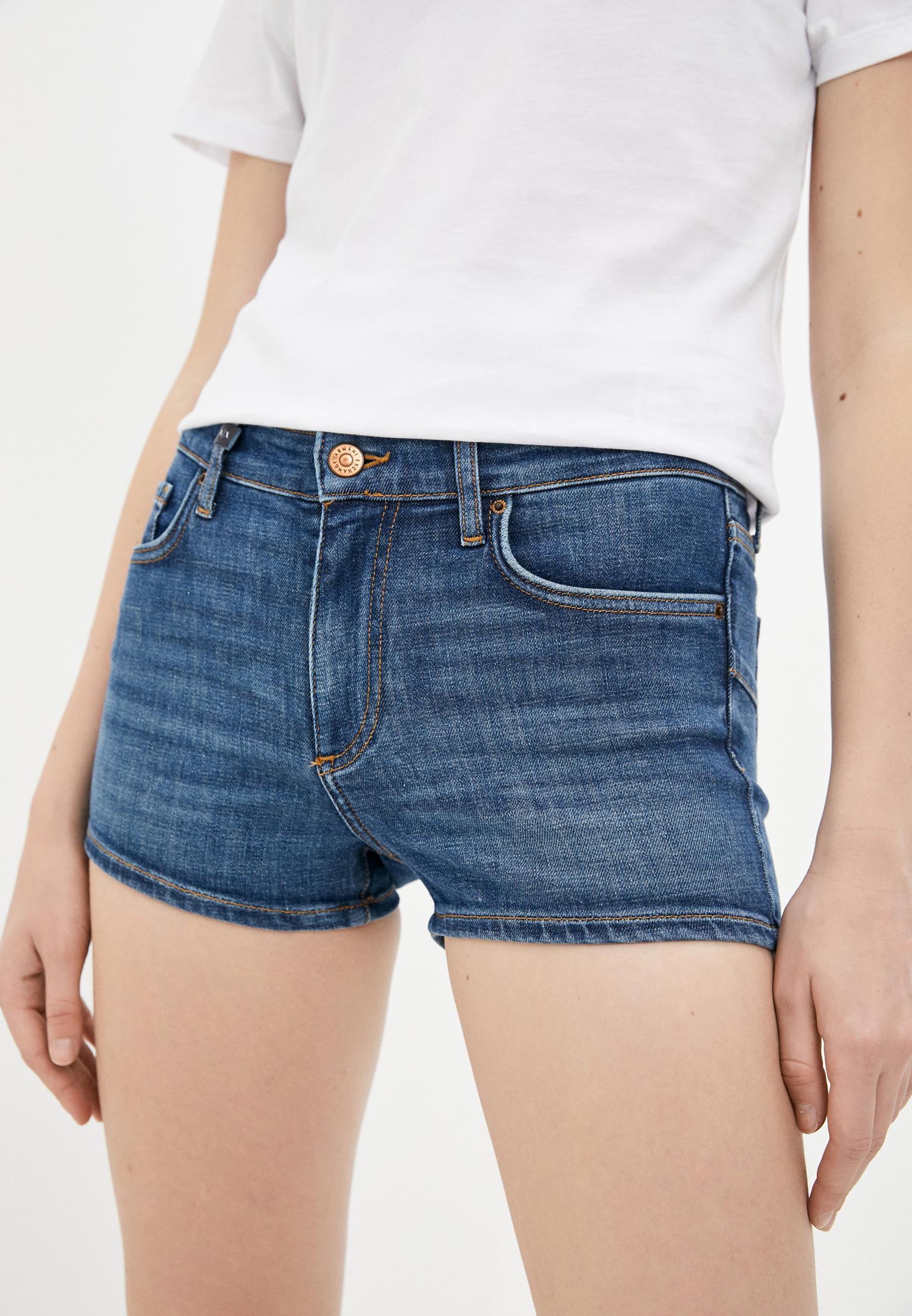 Женские джинсовые шорты Armani Exchange 3KYJ91 Y3DAZ: изображение 1