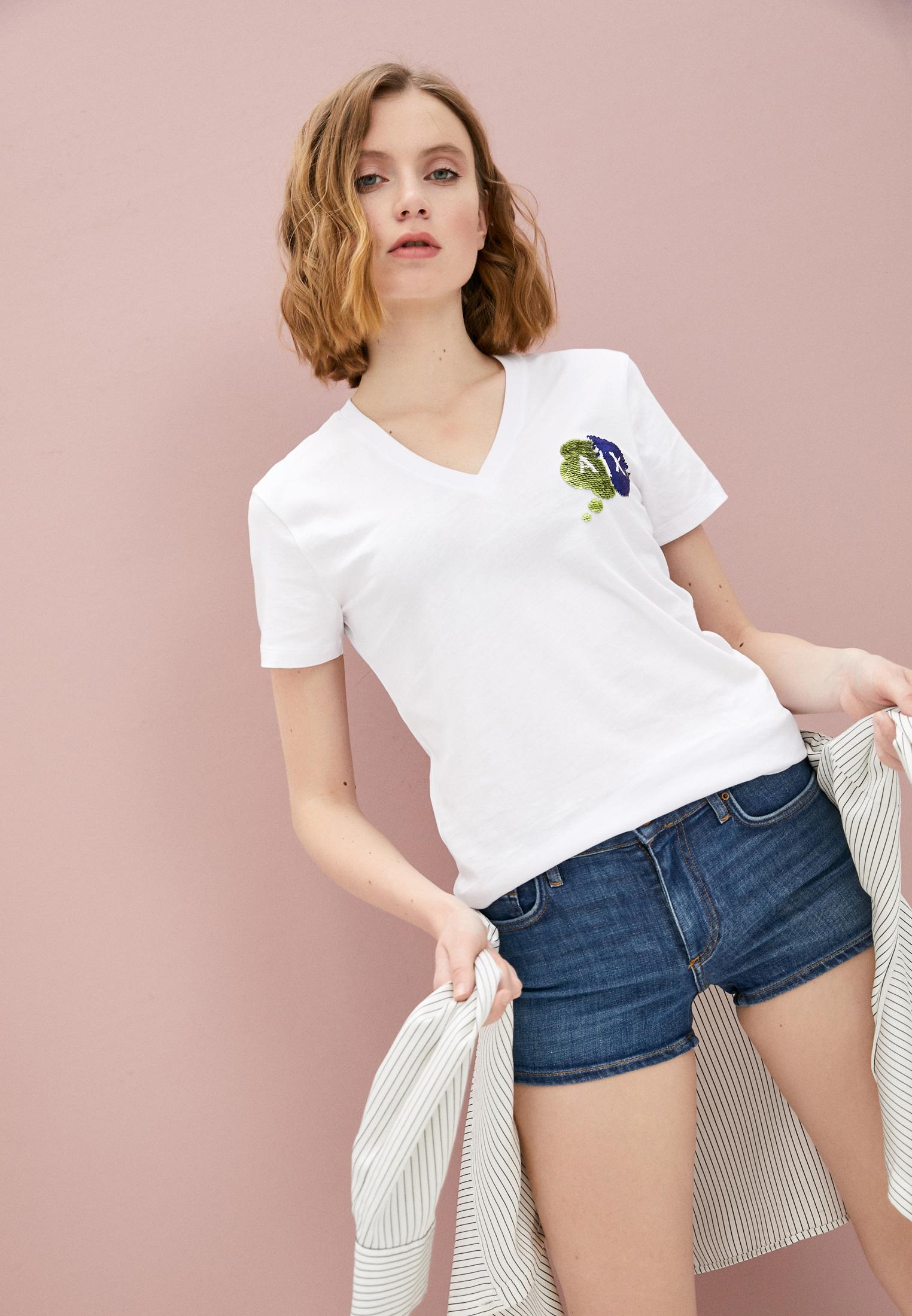 Женские джинсовые шорты Armani Exchange 3KYJ91 Y3DAZ: изображение 2