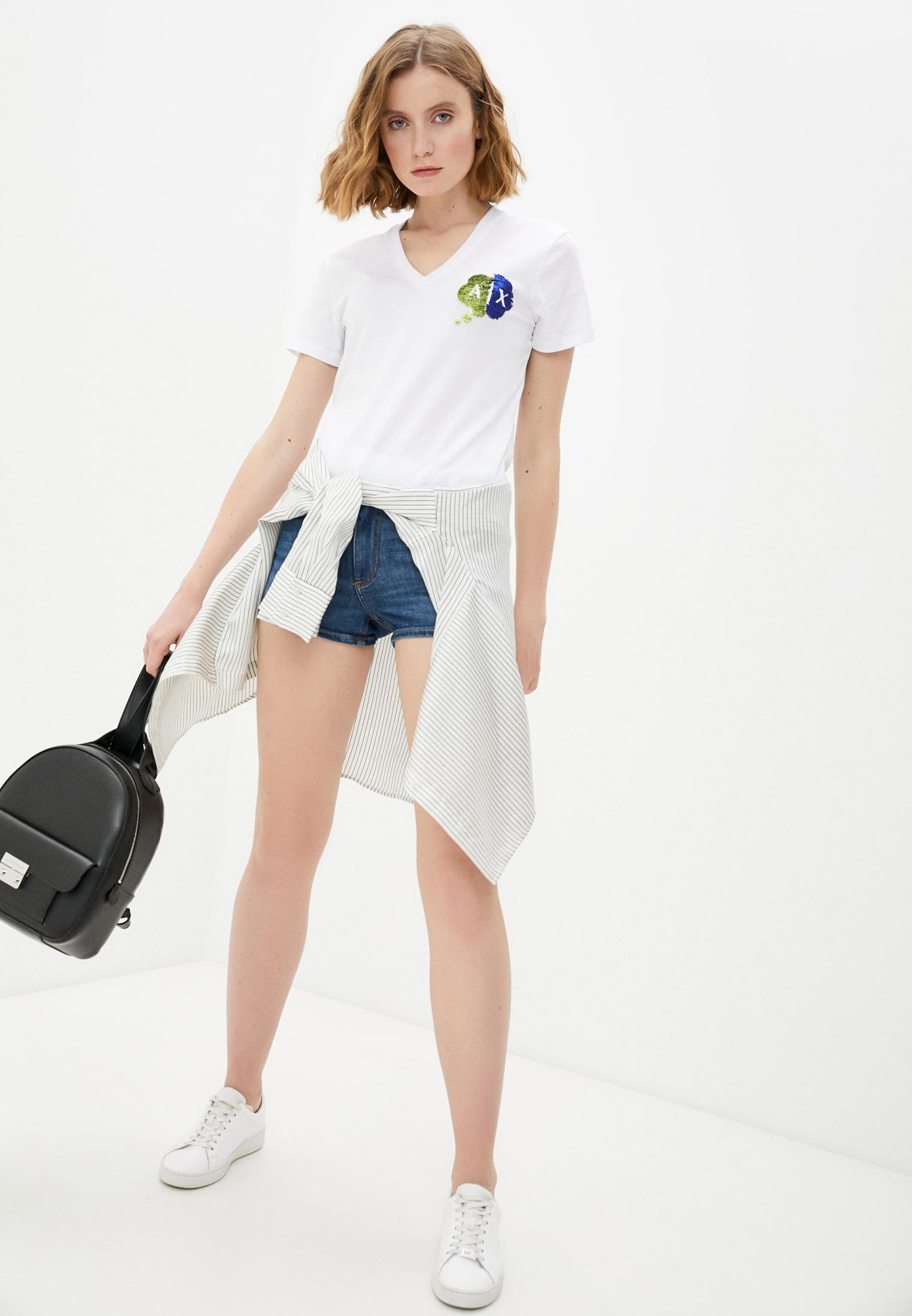Женские джинсовые шорты Armani Exchange 3KYJ91 Y3DAZ: изображение 3