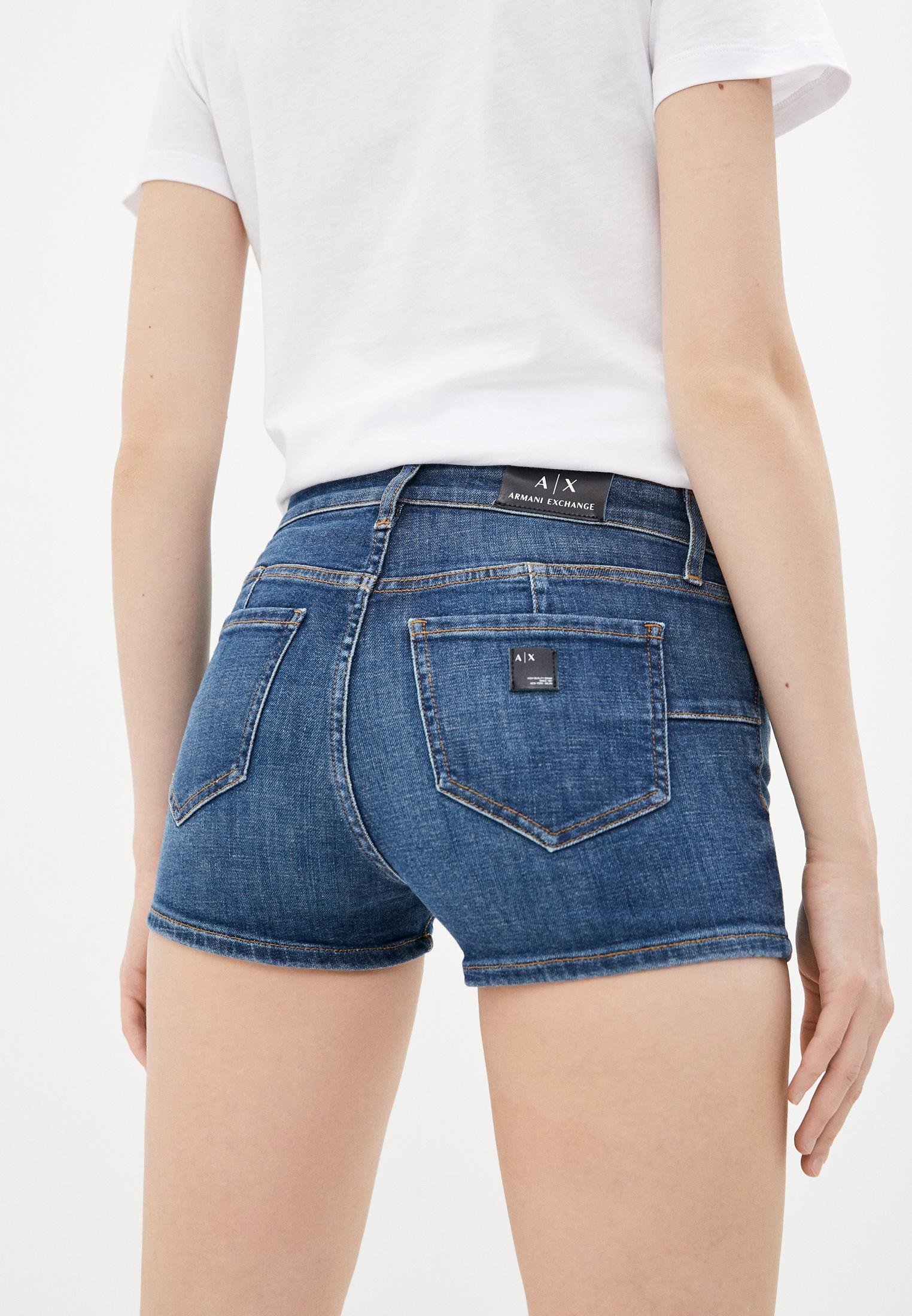 Женские джинсовые шорты Armani Exchange 3KYJ91 Y3DAZ: изображение 4