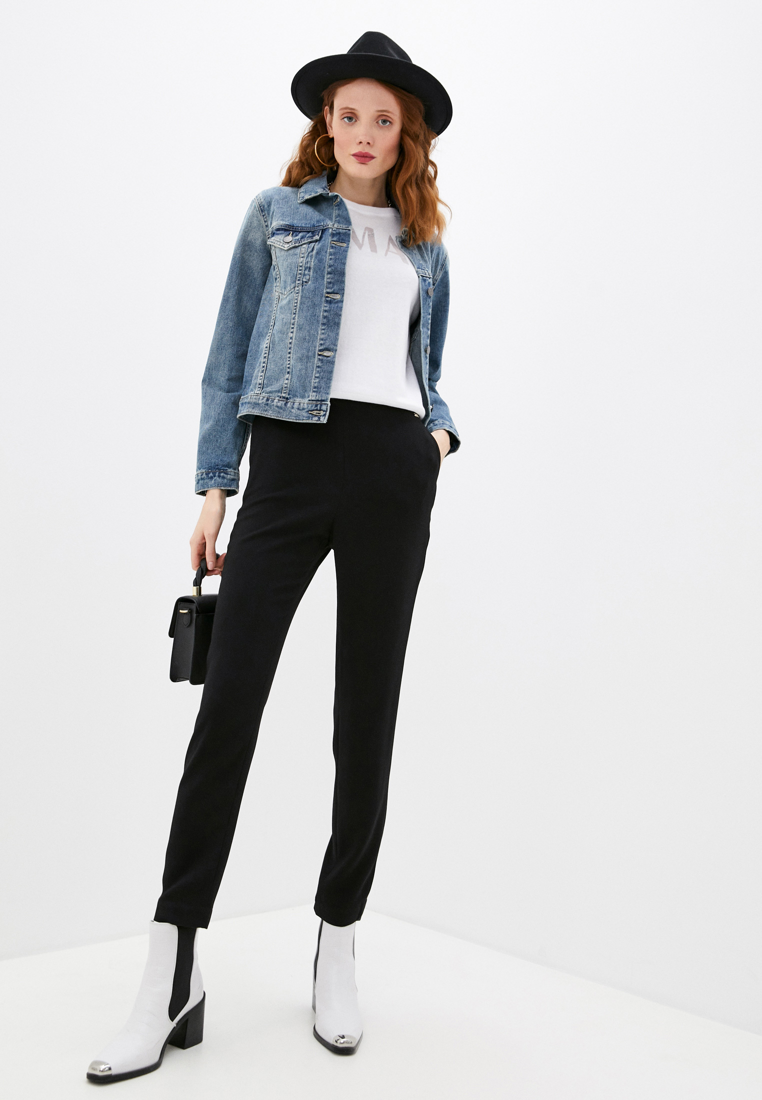 Женские классические брюки Armani Exchange 3KYP33 YNV9Z: изображение 3
