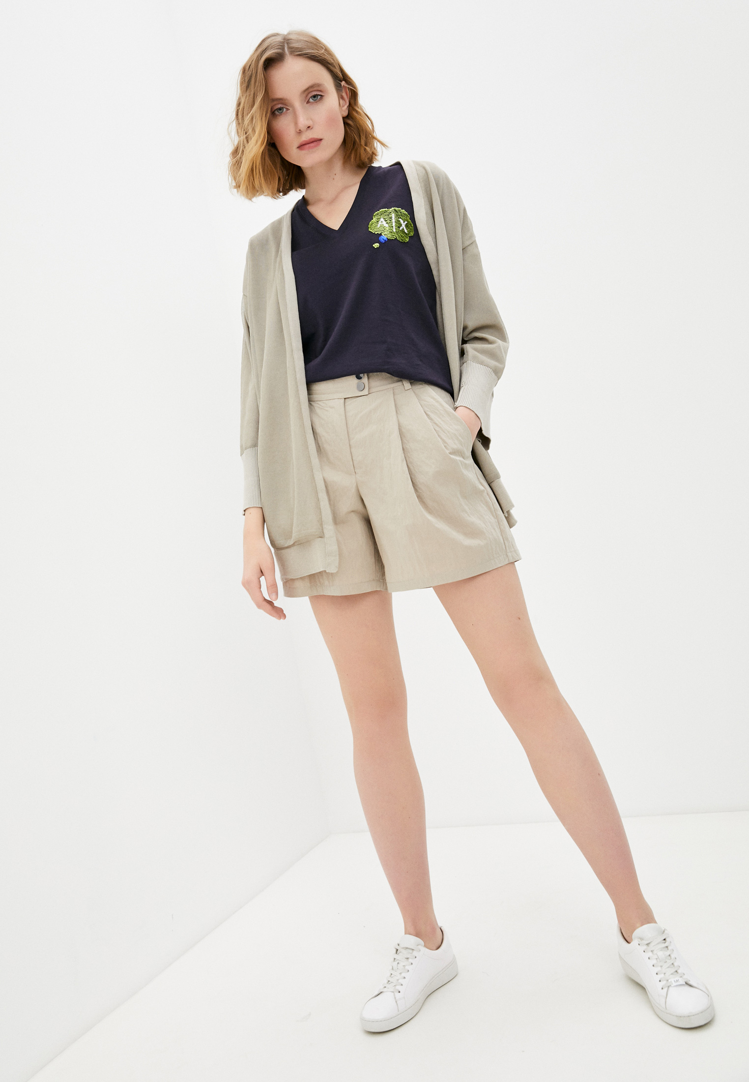 Женские повседневные шорты Armani Exchange 3KYS11 YNJ1Z: изображение 3
