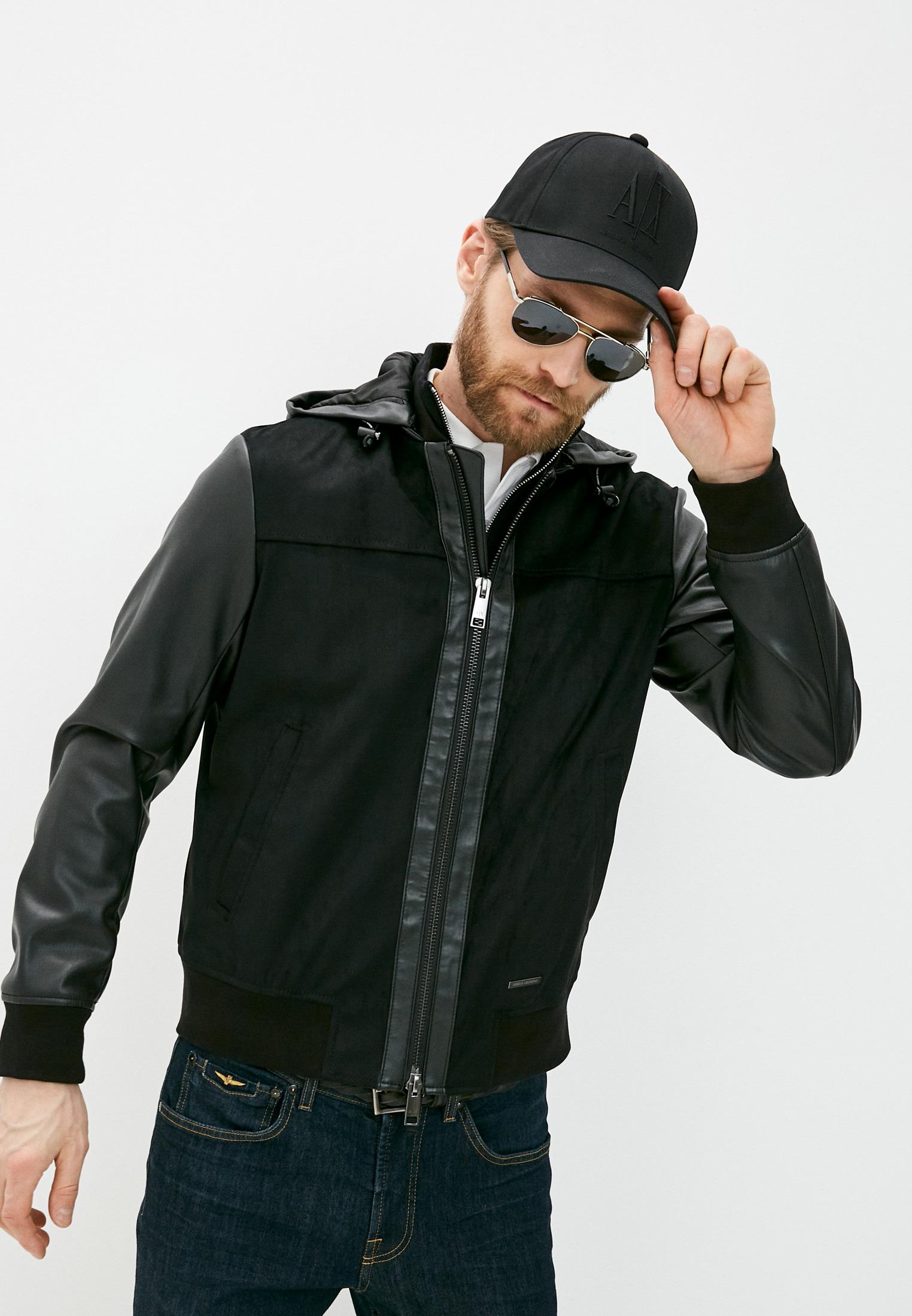 Кожаная куртка Armani Exchange 3KZB03 ZE1AZ: изображение 1