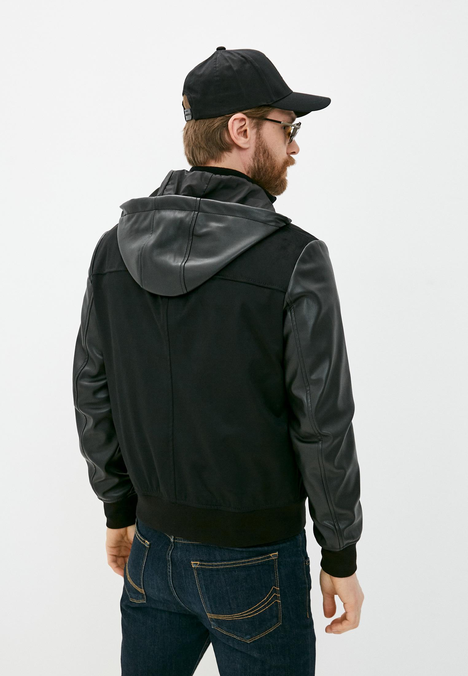 Кожаная куртка Armani Exchange 3KZB03 ZE1AZ: изображение 4