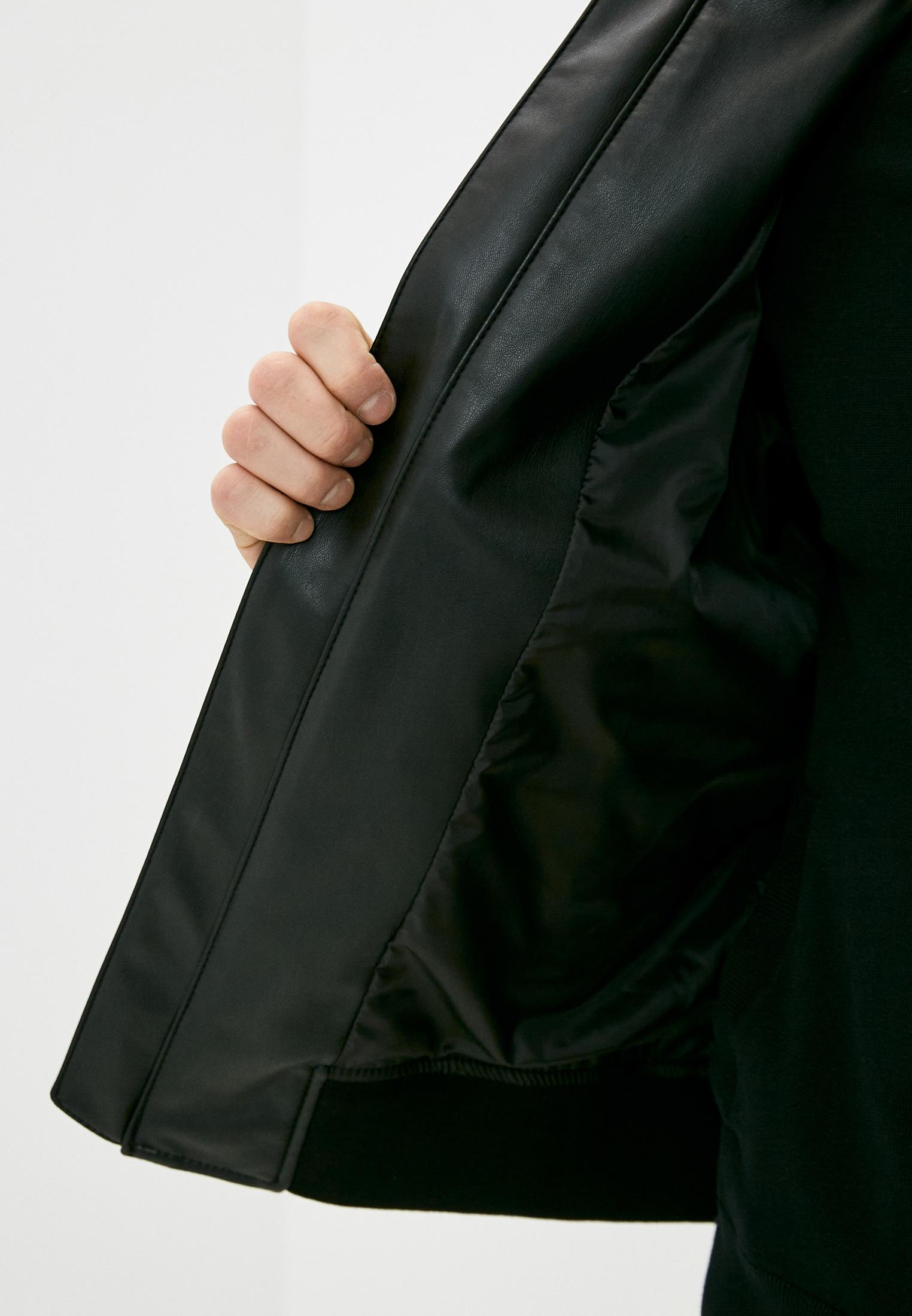 Кожаная куртка Armani Exchange 3KZB03 ZE1AZ: изображение 5