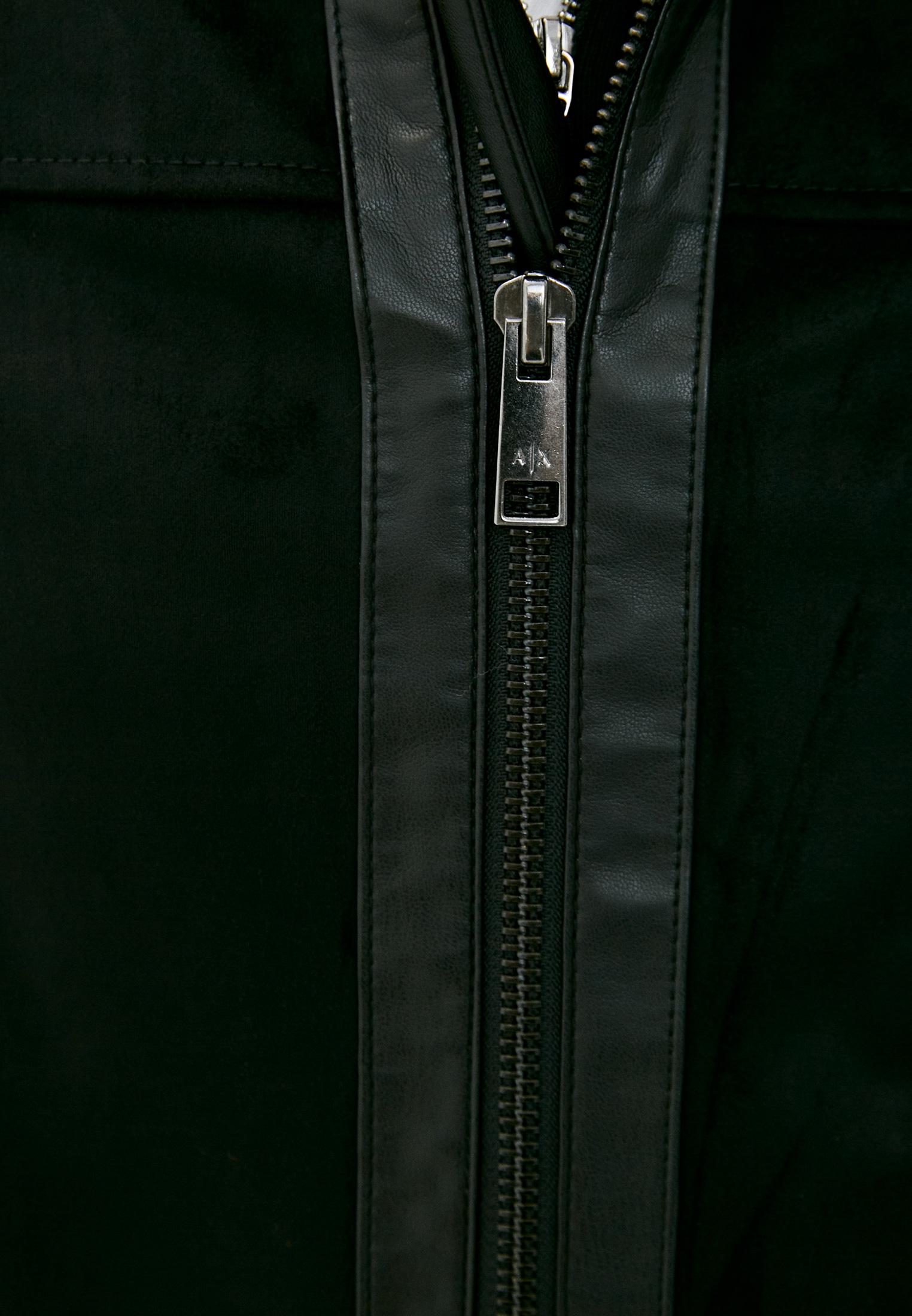 Кожаная куртка Armani Exchange 3KZB03 ZE1AZ: изображение 6