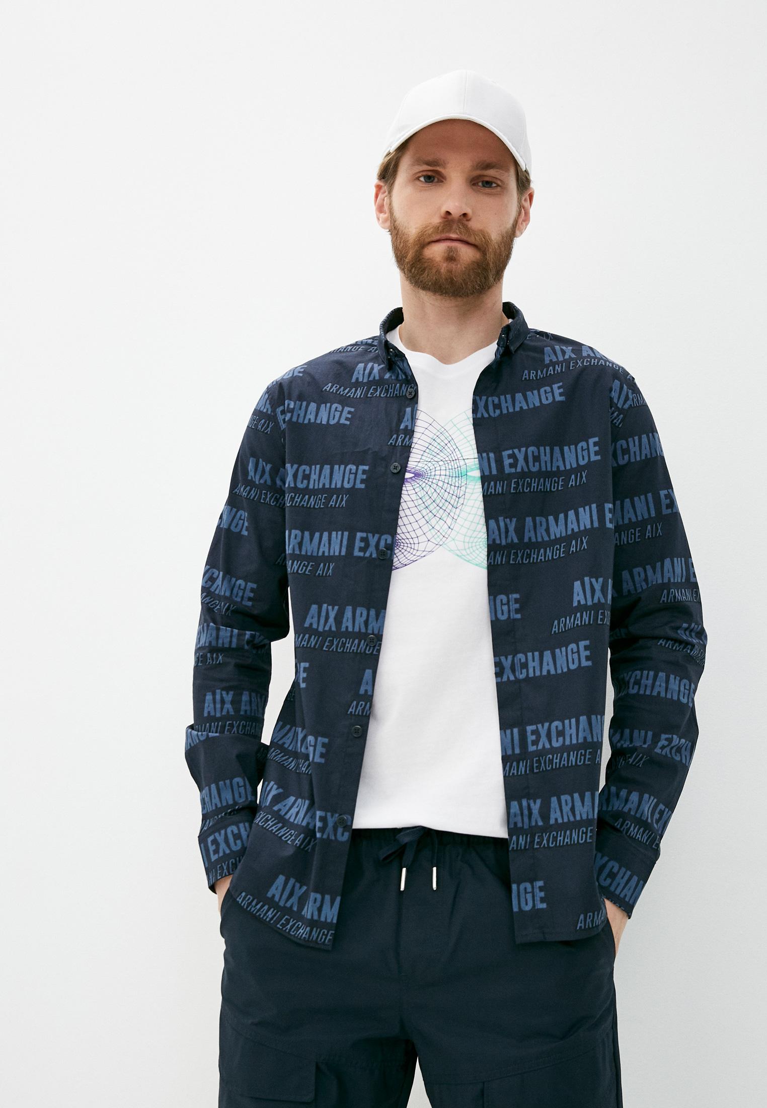 Рубашка с длинным рукавом Armani Exchange Рубашка Armani Exchange