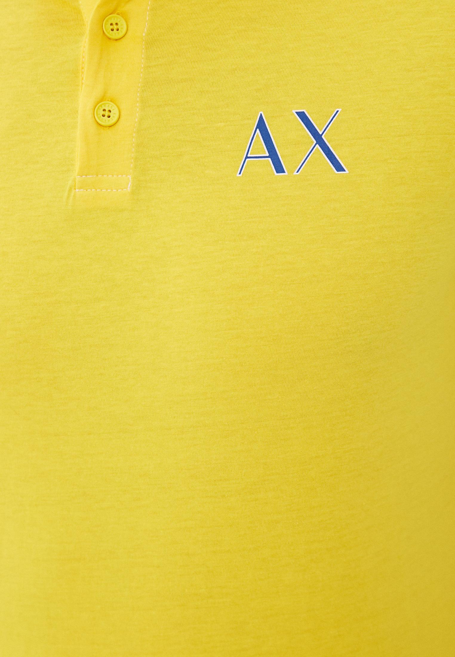 Мужские поло Armani Exchange 3KZFAG ZJ5LZ: изображение 5