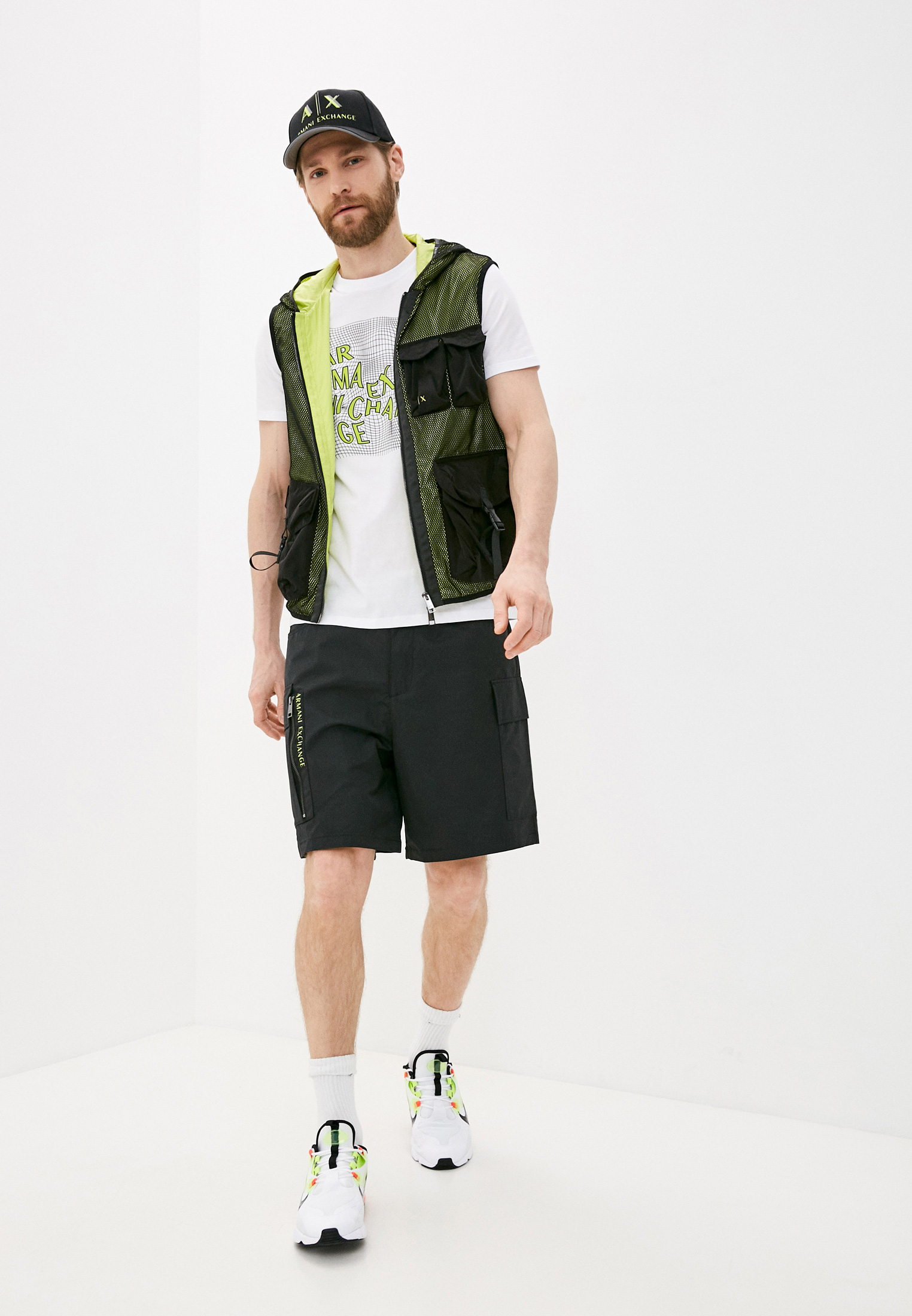 Мужские повседневные шорты Armani Exchange 3KZS03 ZNJ8Z: изображение 3