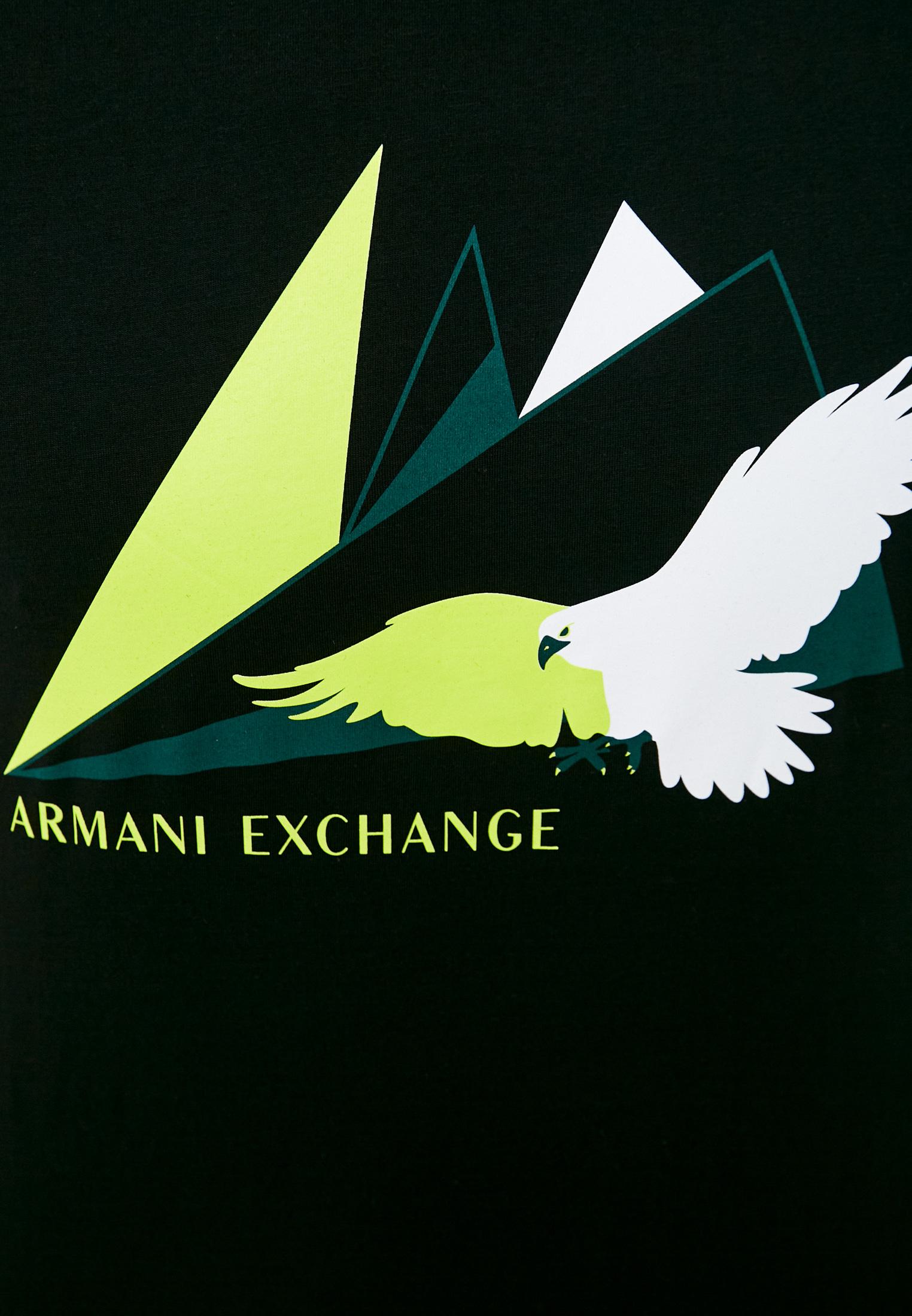 Футболка Armani Exchange 3KZTAS ZJA5Z: изображение 5