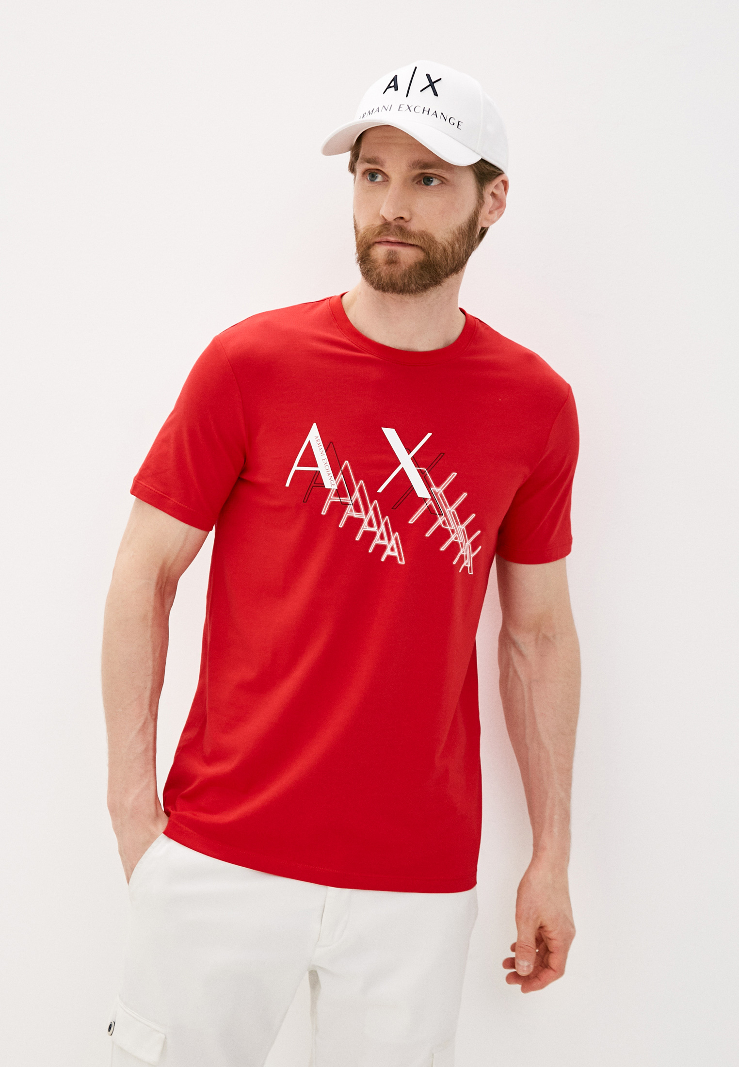 Футболка Armani Exchange 3KZTFA ZJE6Z